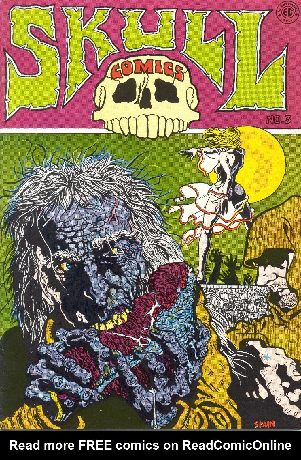 Skull Comics 3 Page 1