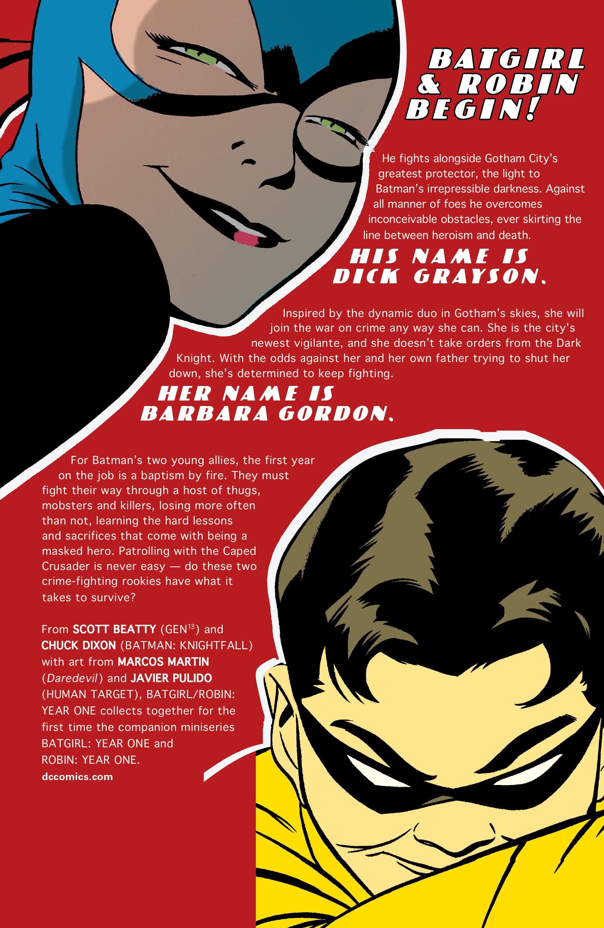 Read online Batgirl/Robin: Year One comic -  Issue # TPB 2 - 211
