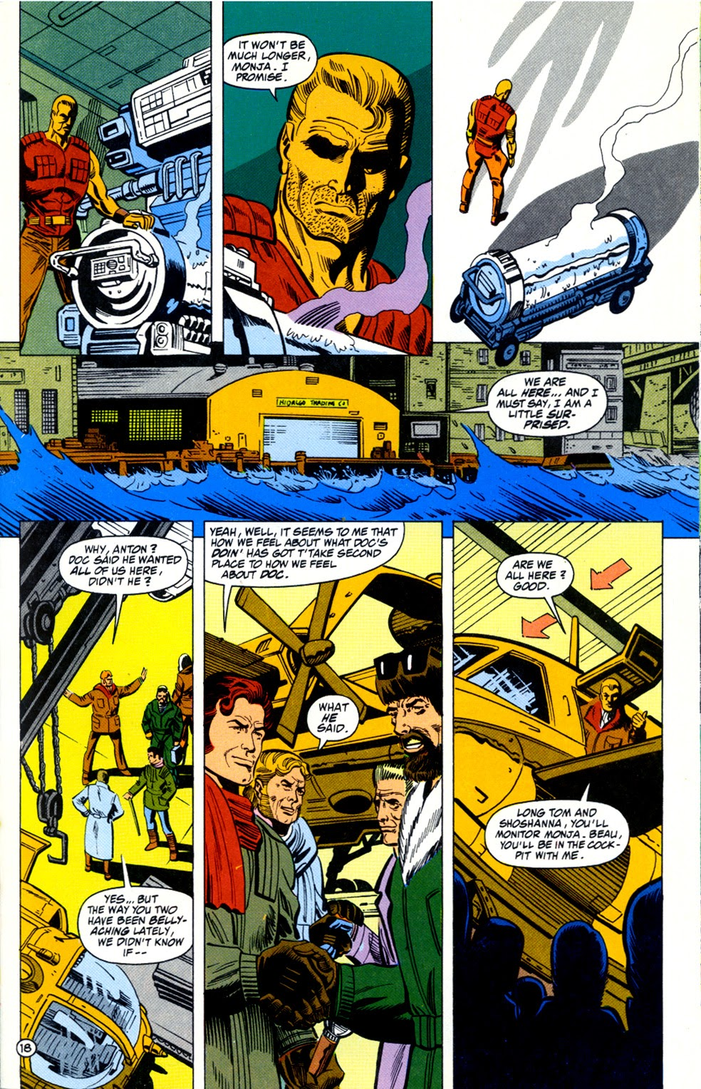 Doc Savage (1988) issue 11 - Page 20