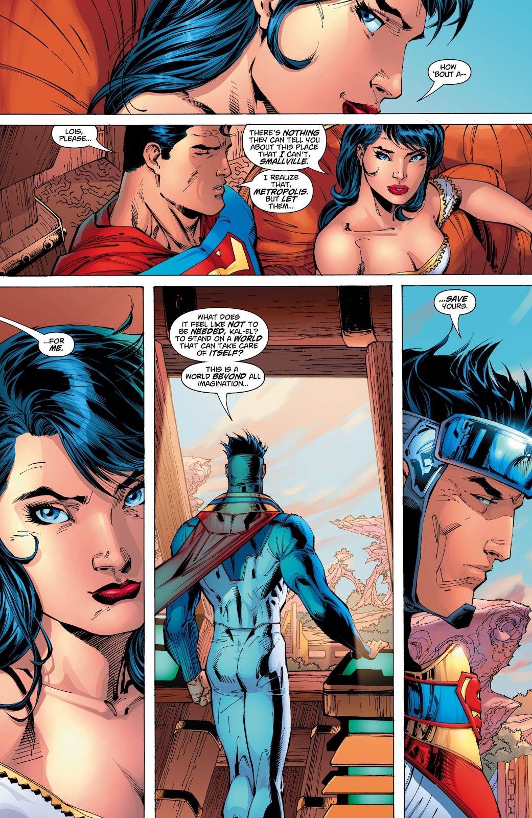 Read online Superman: For Tomorrow comic -  Issue # TPB (Part 3) - 33