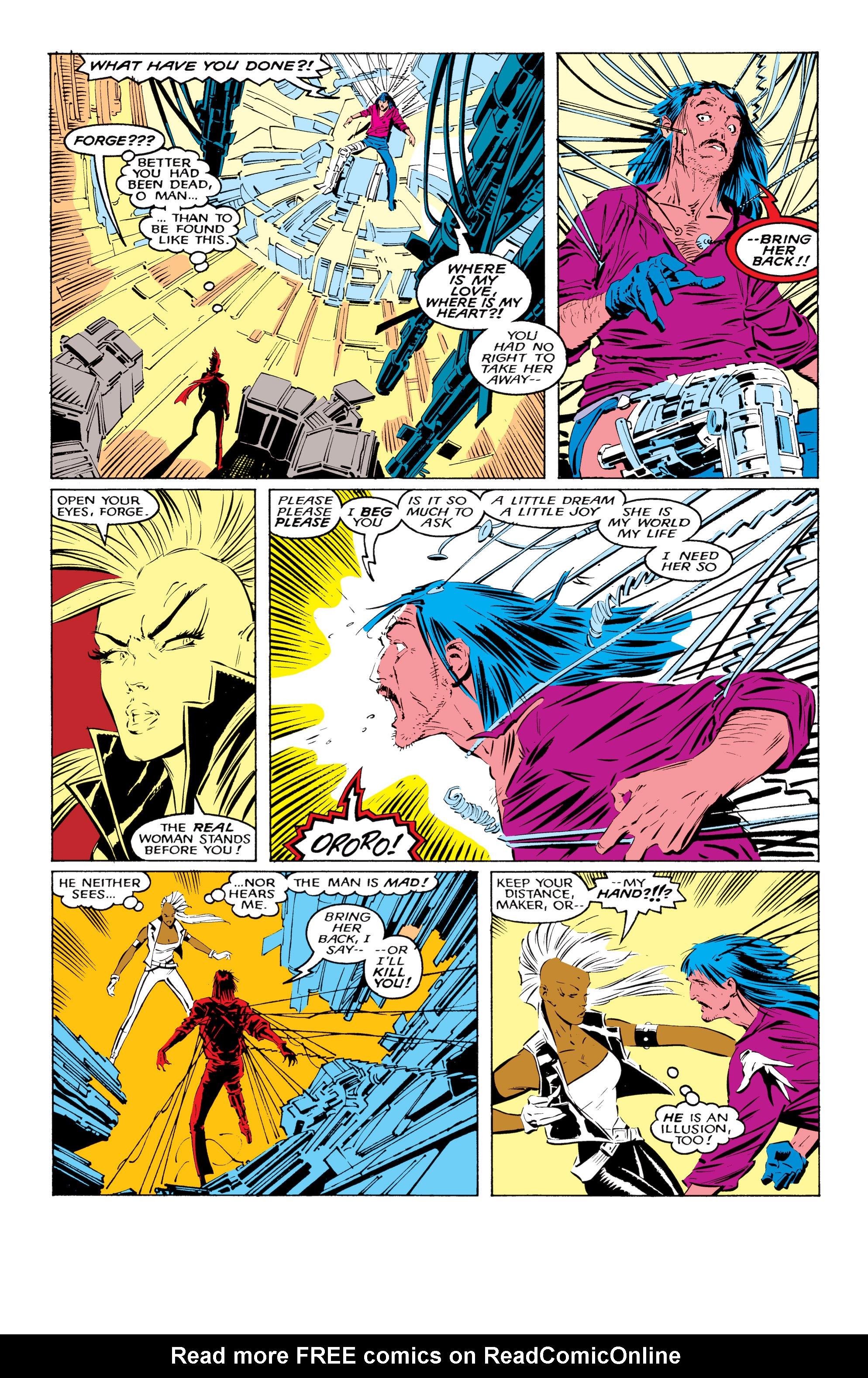 Read online Uncanny X-Men (1963) comic -  Issue #220 - 18