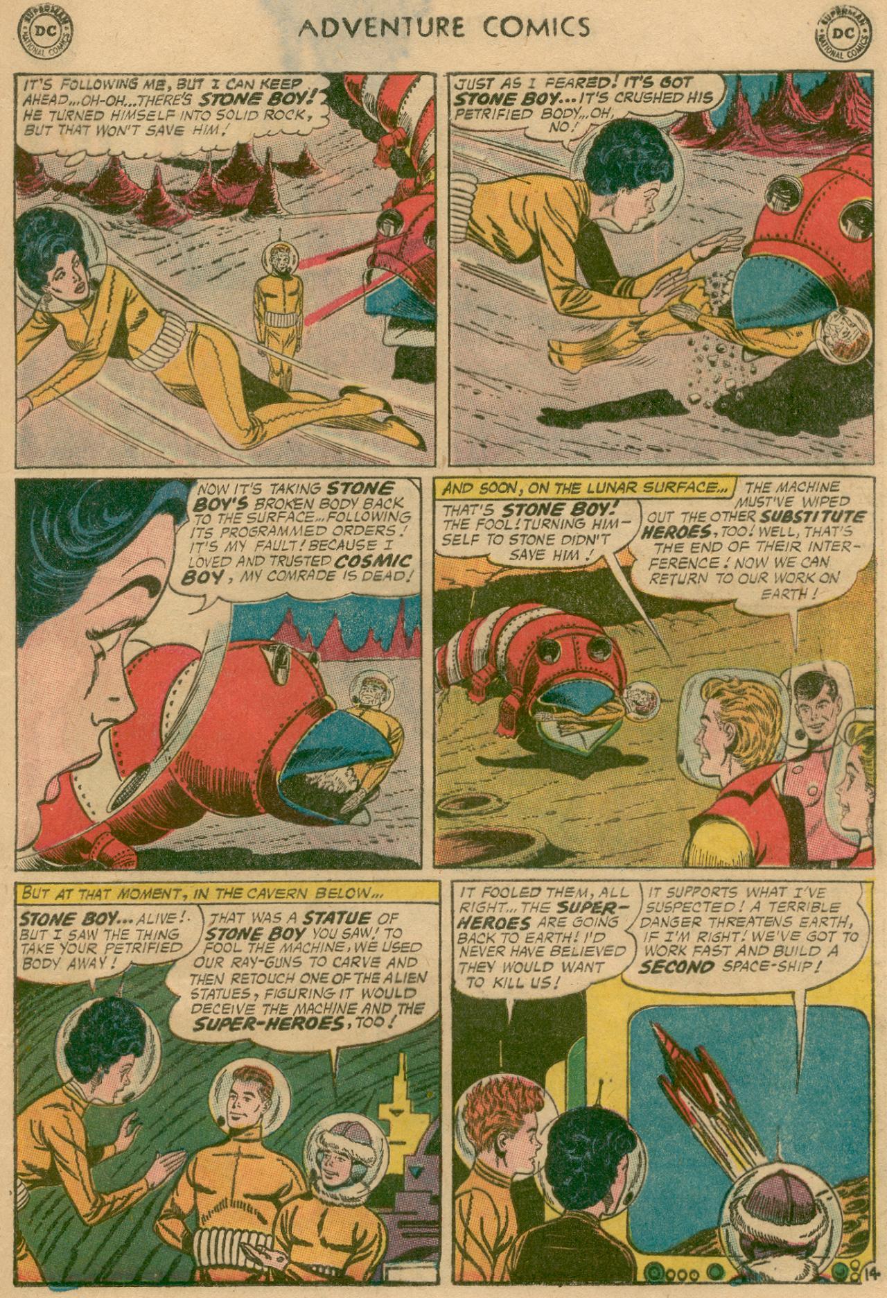 Read online Adventure Comics (1938) comic -  Issue #311 - 16
