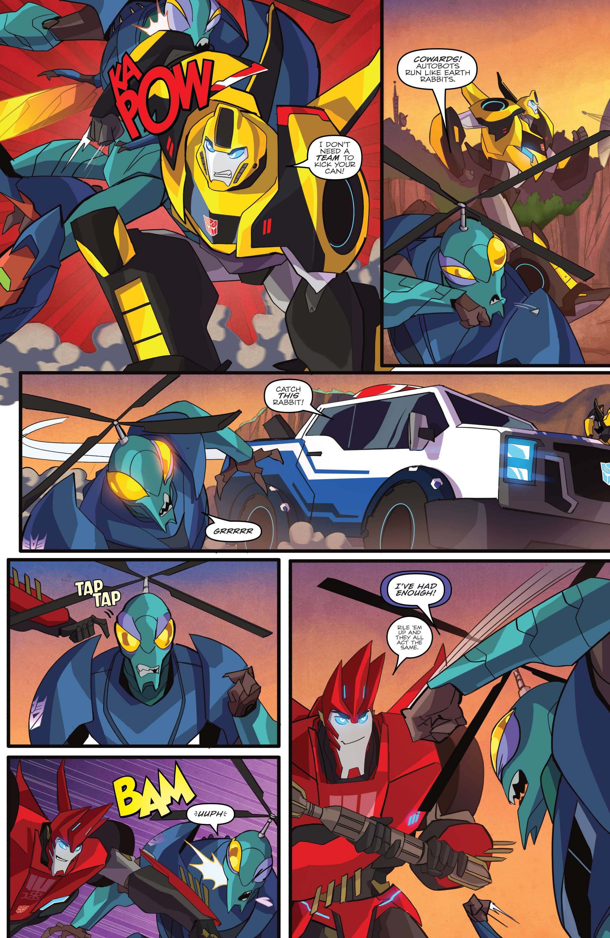 Read online Transformers: Robots In Disguise (2015) comic -  Issue #1 - 17
