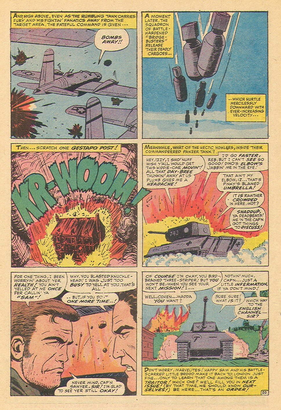 Read online Sgt. Fury comic -  Issue #92 - 48