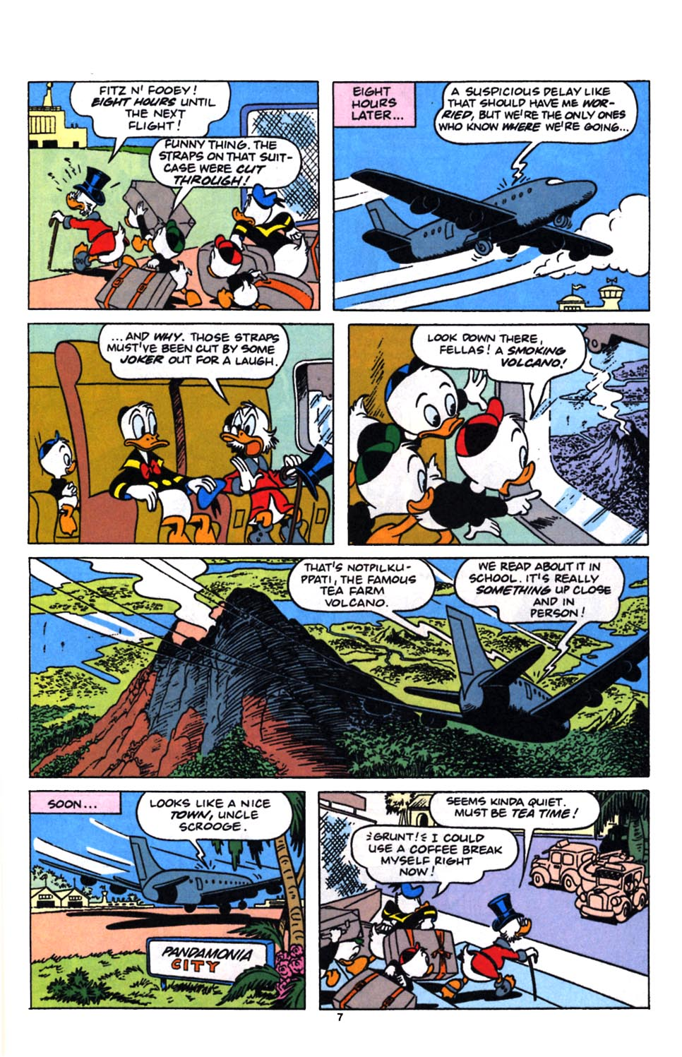 Read online Uncle Scrooge (1953) comic -  Issue #249 - 9
