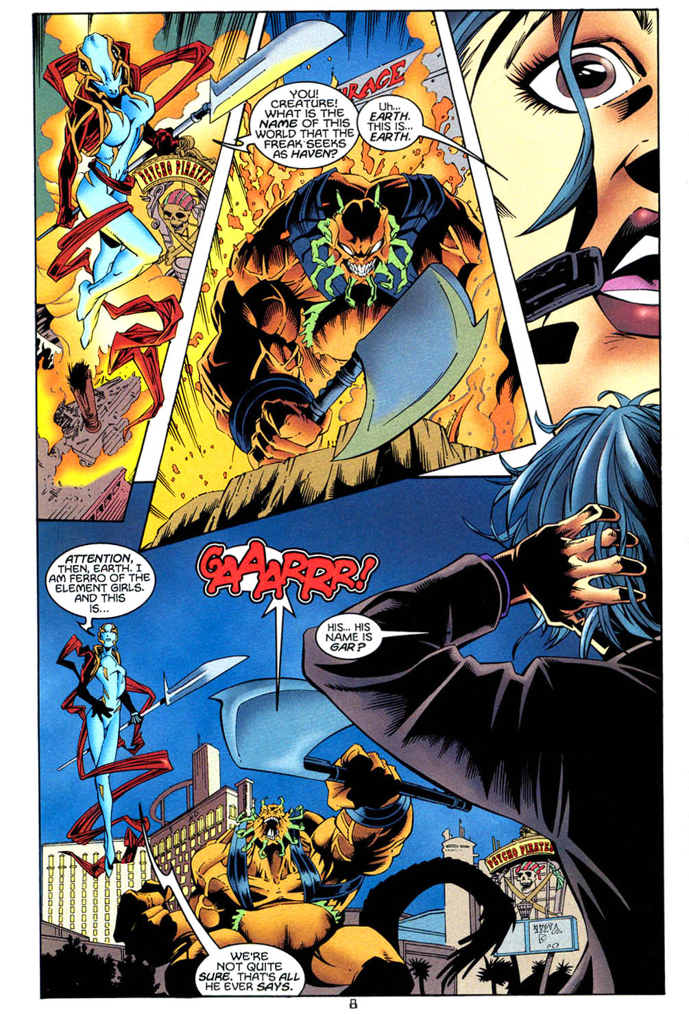 Read online Tangent Comics/ Wonder Woman comic -  Issue # Full - 9