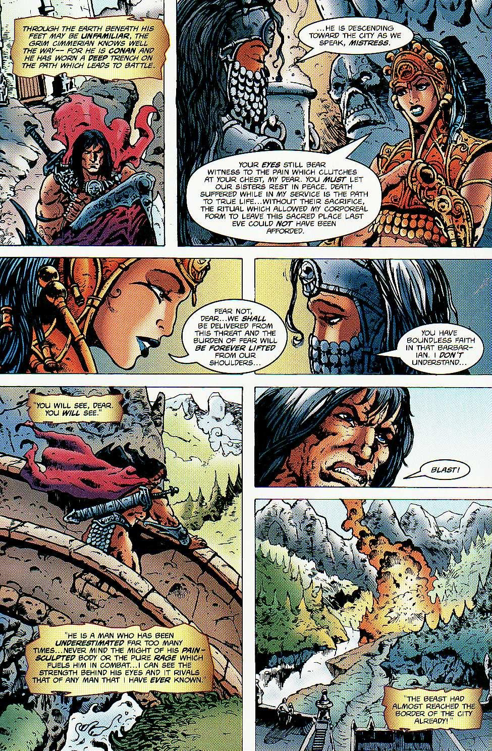 Read online Conan: Return of Styrm comic -  Issue #3 - 5