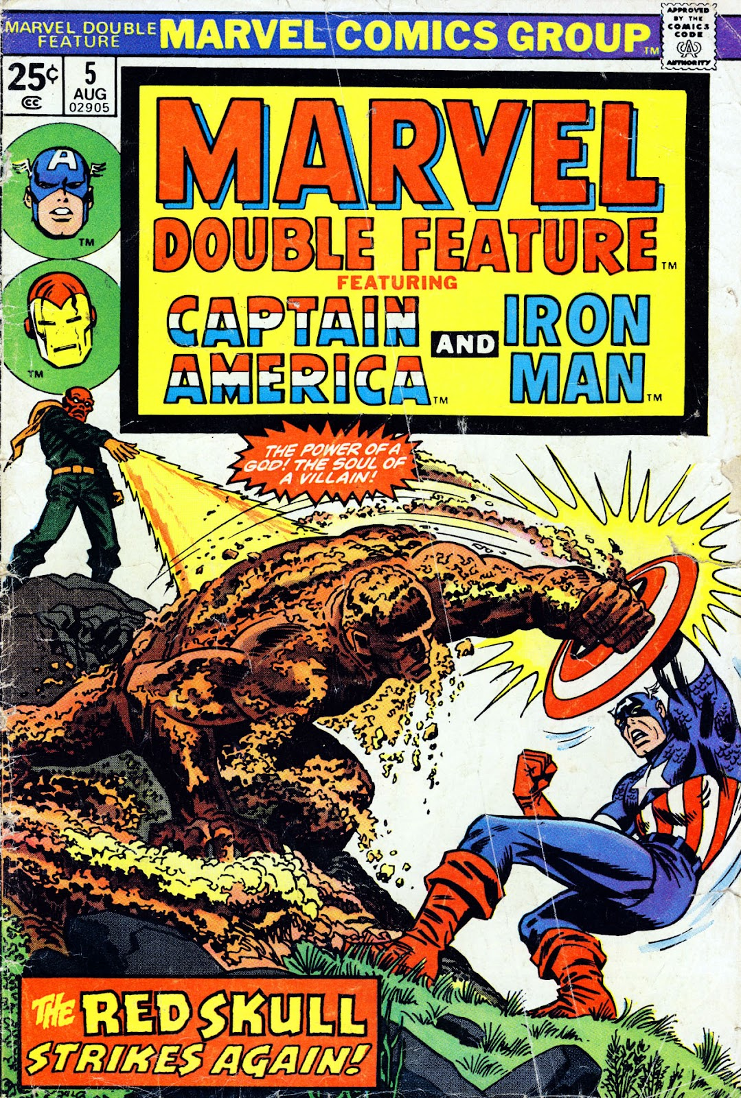 Marvel Double Feature issue 5 - Page 1