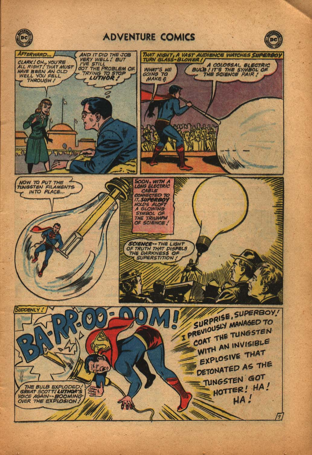 Read online Adventure Comics (1938) comic -  Issue #292 - 9