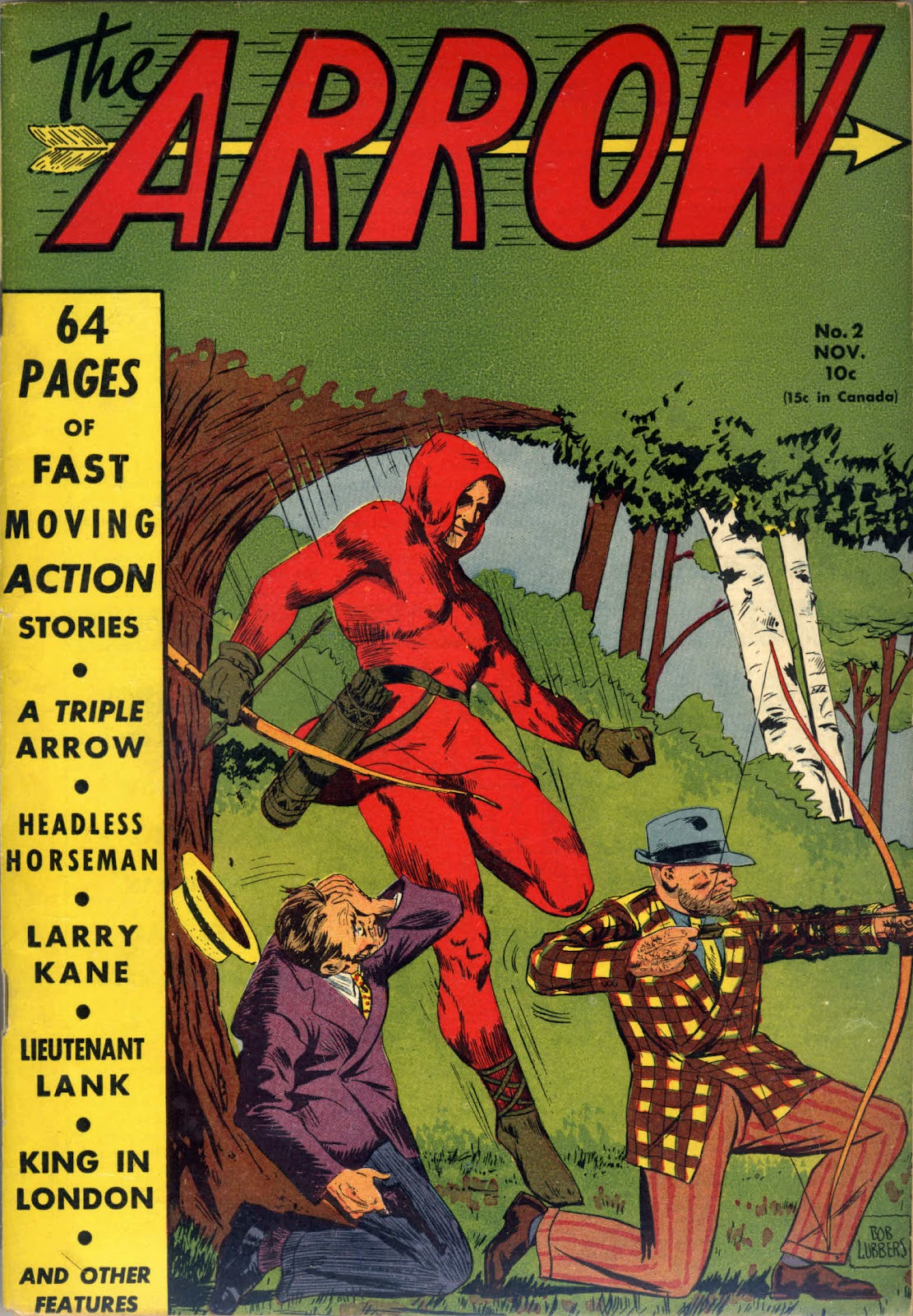 Arrow (1940) issue 2 - Page 1