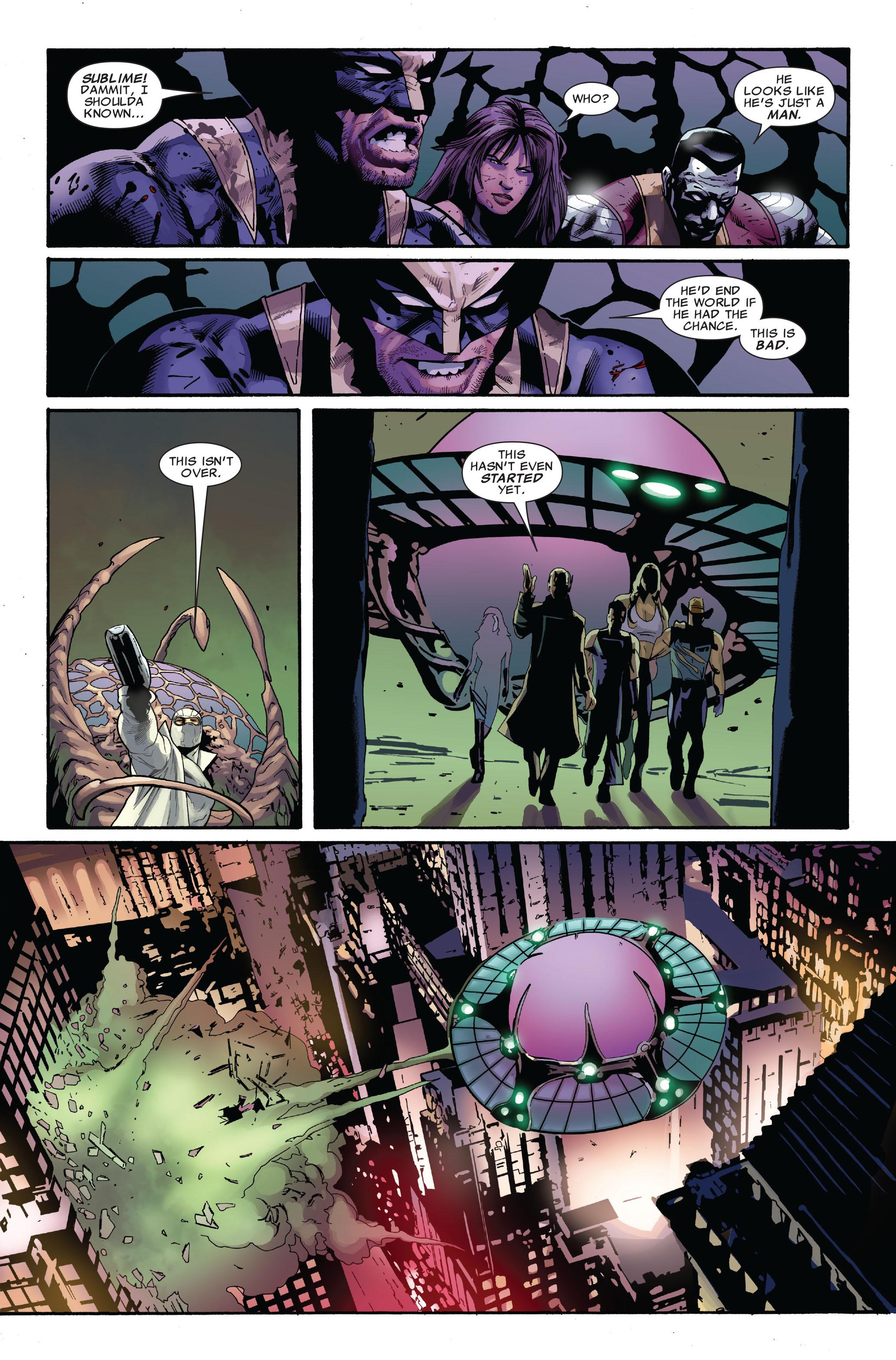 Read online Uncanny X-Men (1963) comic -  Issue #521 - 21