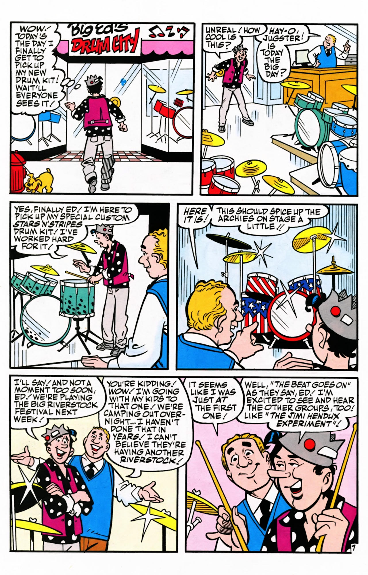 Read online Archie (1960) comic -  Issue #599 - 10