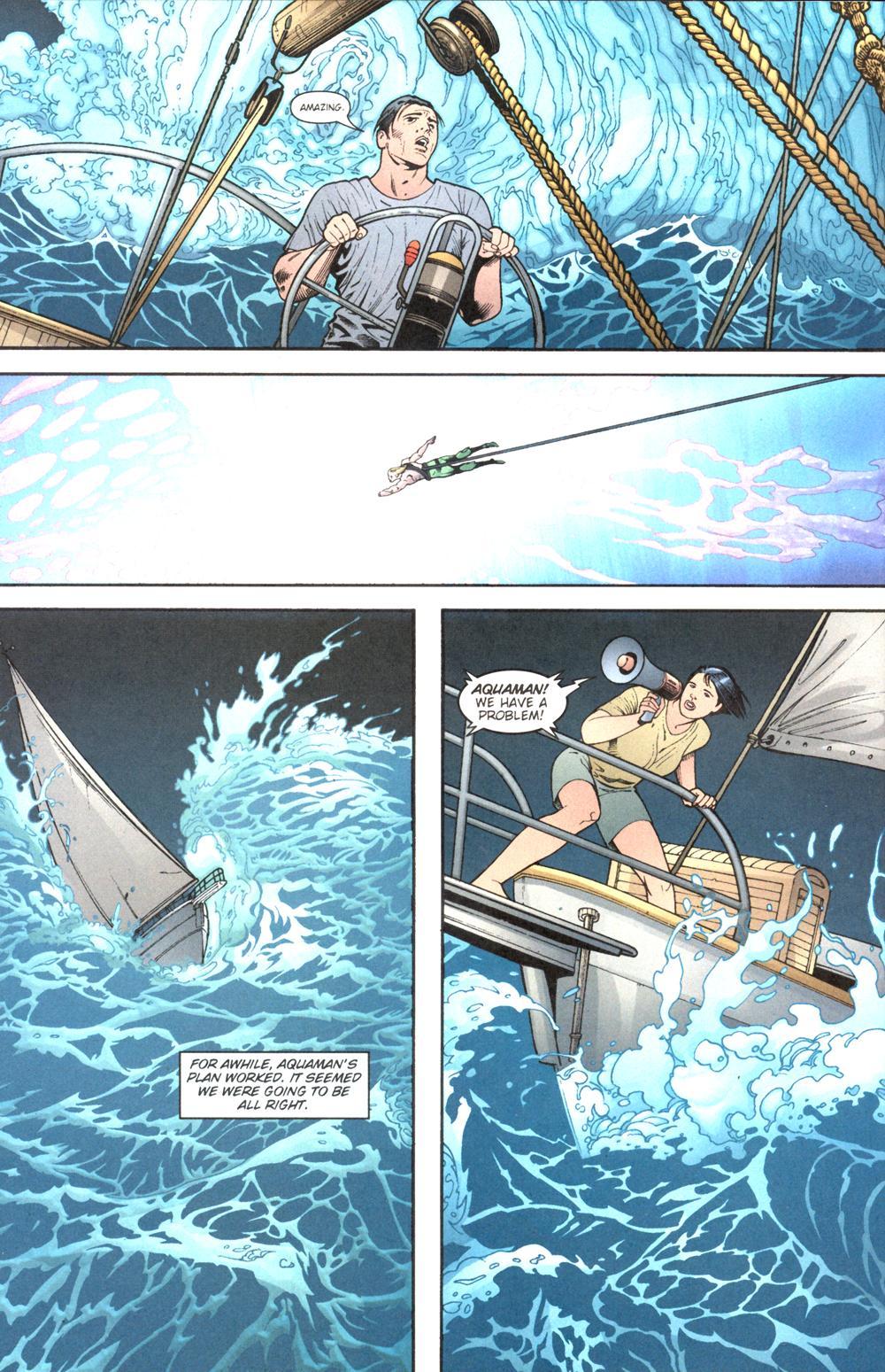 Read online Aquaman (2003) comic -  Issue #13 - 12