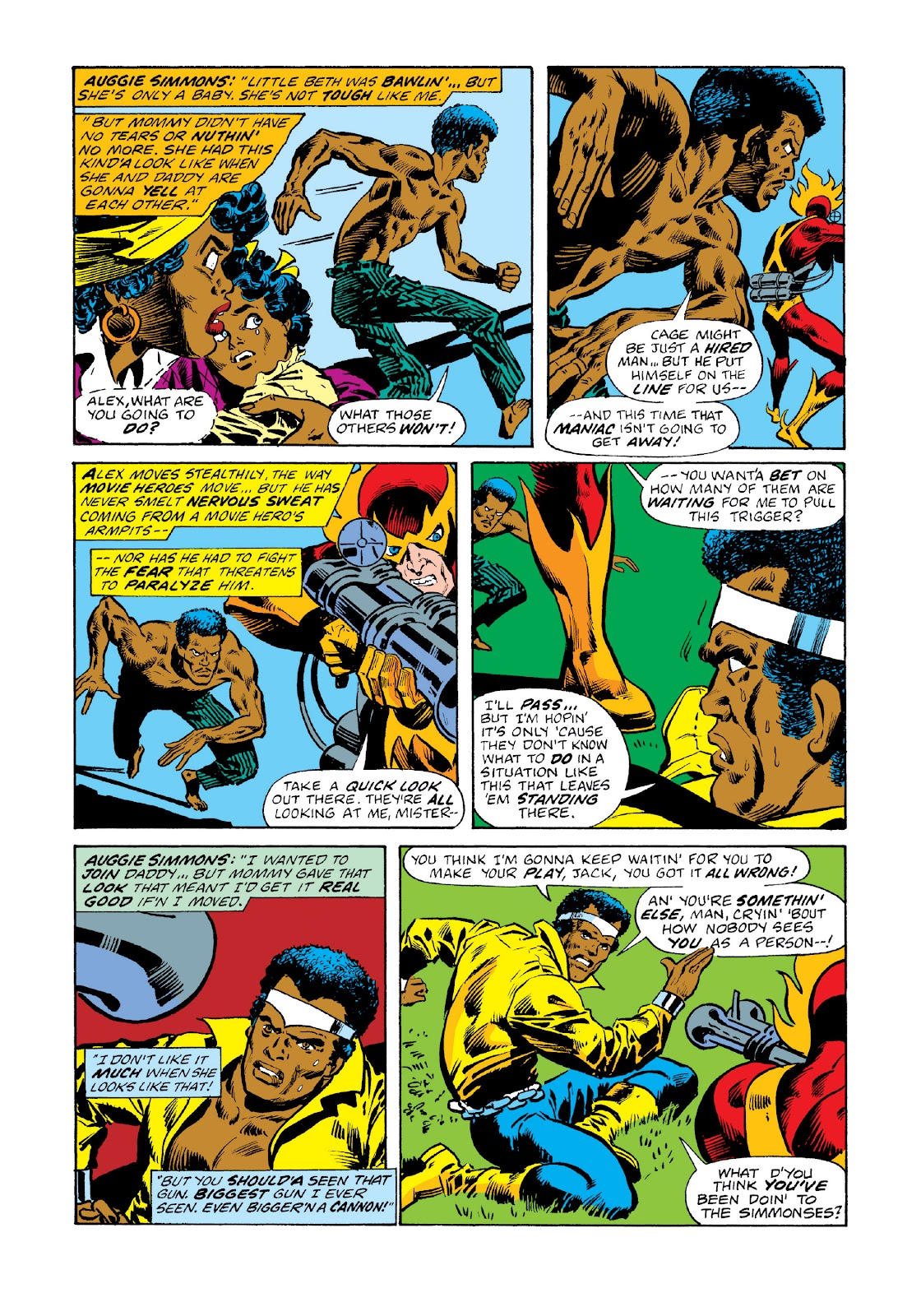 Read online Marvel Masterworks: Luke Cage, Power Man comic -  Issue # TPB 3 (Part 1) - 15