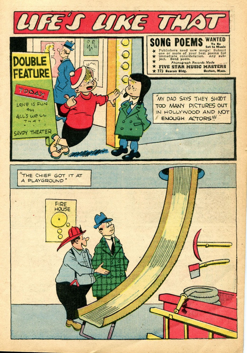 Read online Famous Funnies comic -  Issue #110 - 9