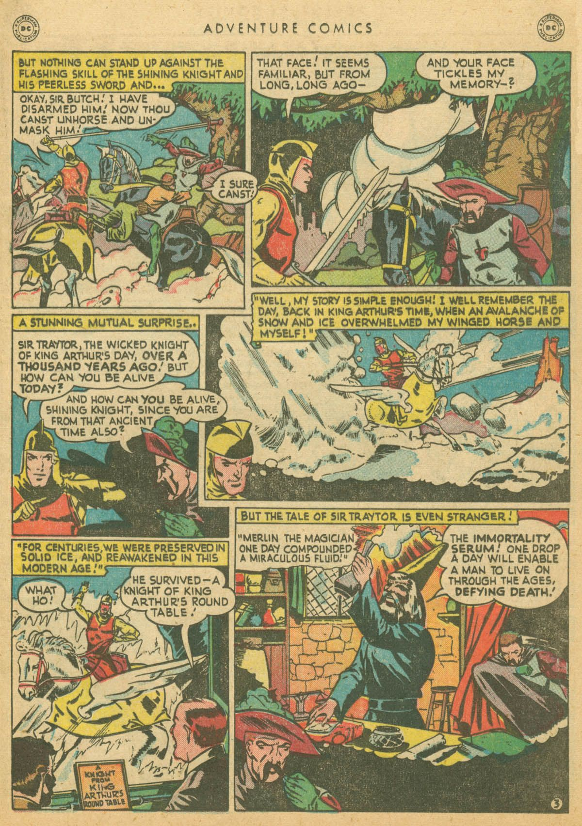 Read online Adventure Comics (1938) comic -  Issue #142 - 34