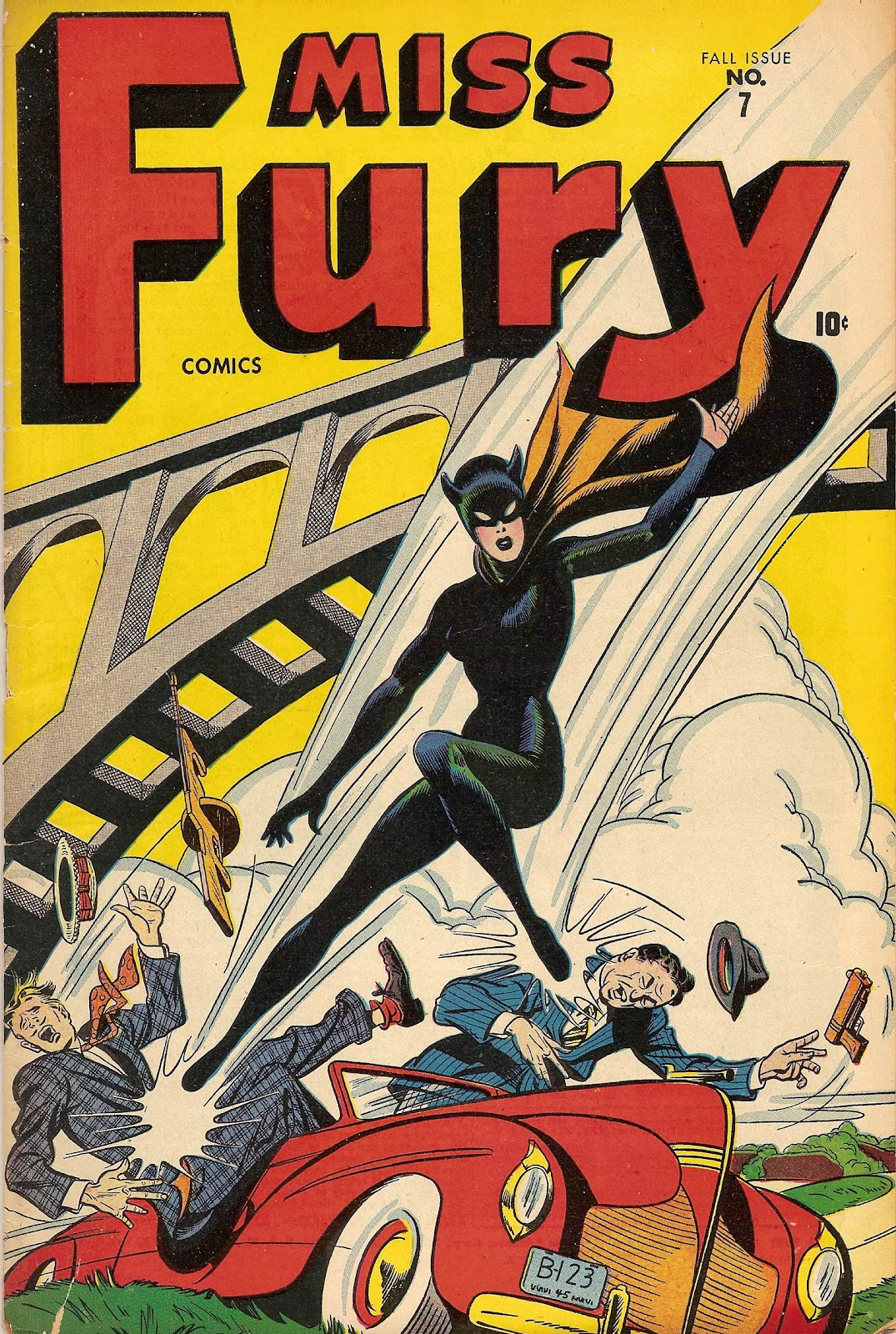 Miss Fury (1942) issue 7 - Page 1