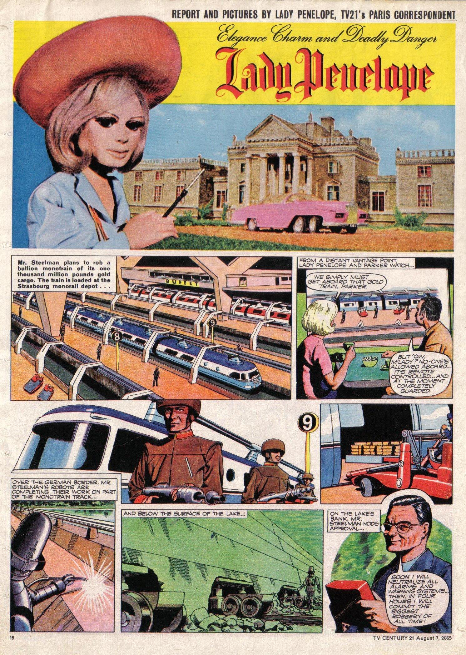 Read online TV Century 21 (TV 21) comic -  Issue #29 - 16