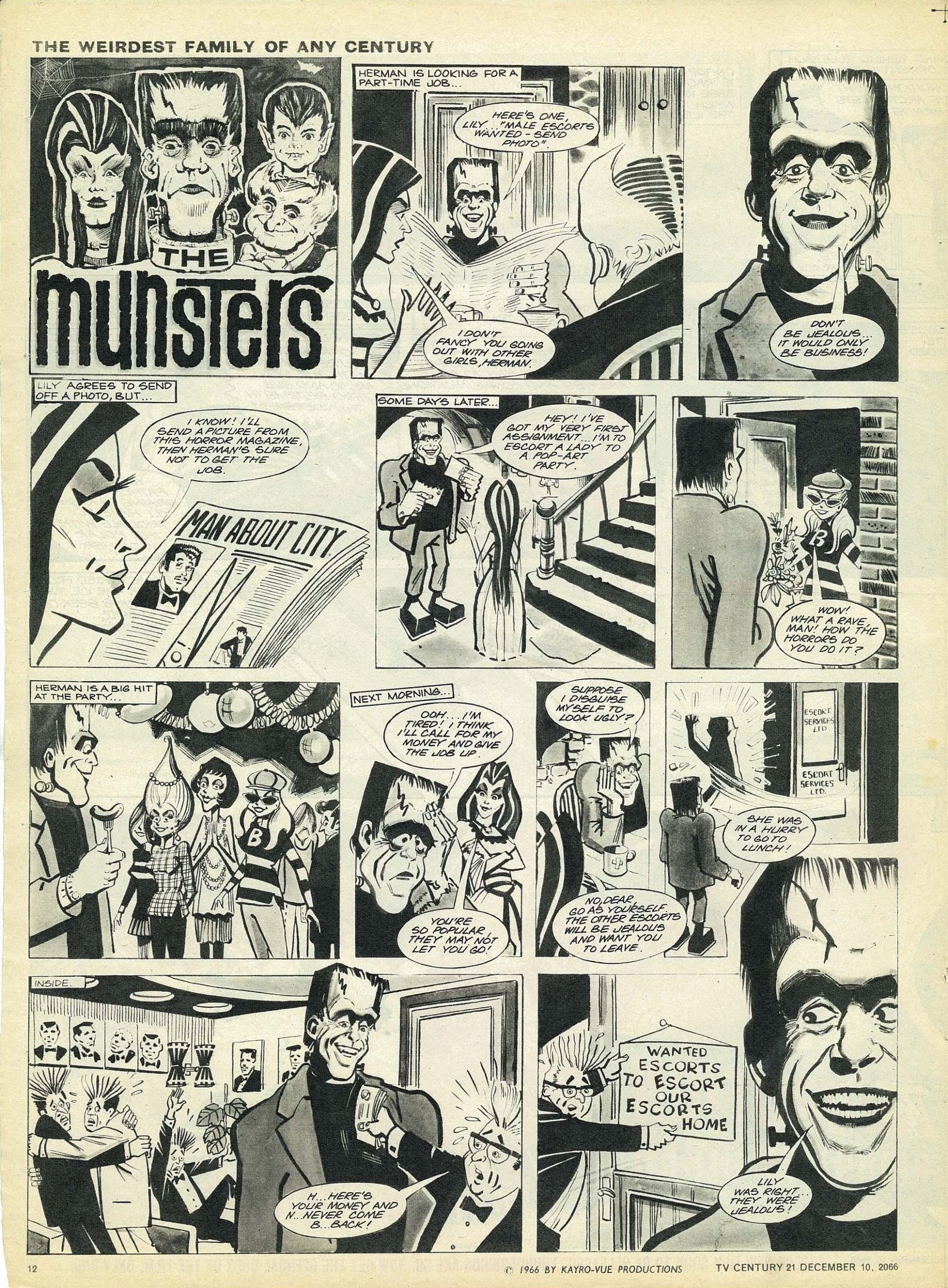 Read online TV Century 21 (TV 21) comic -  Issue #99 - 11