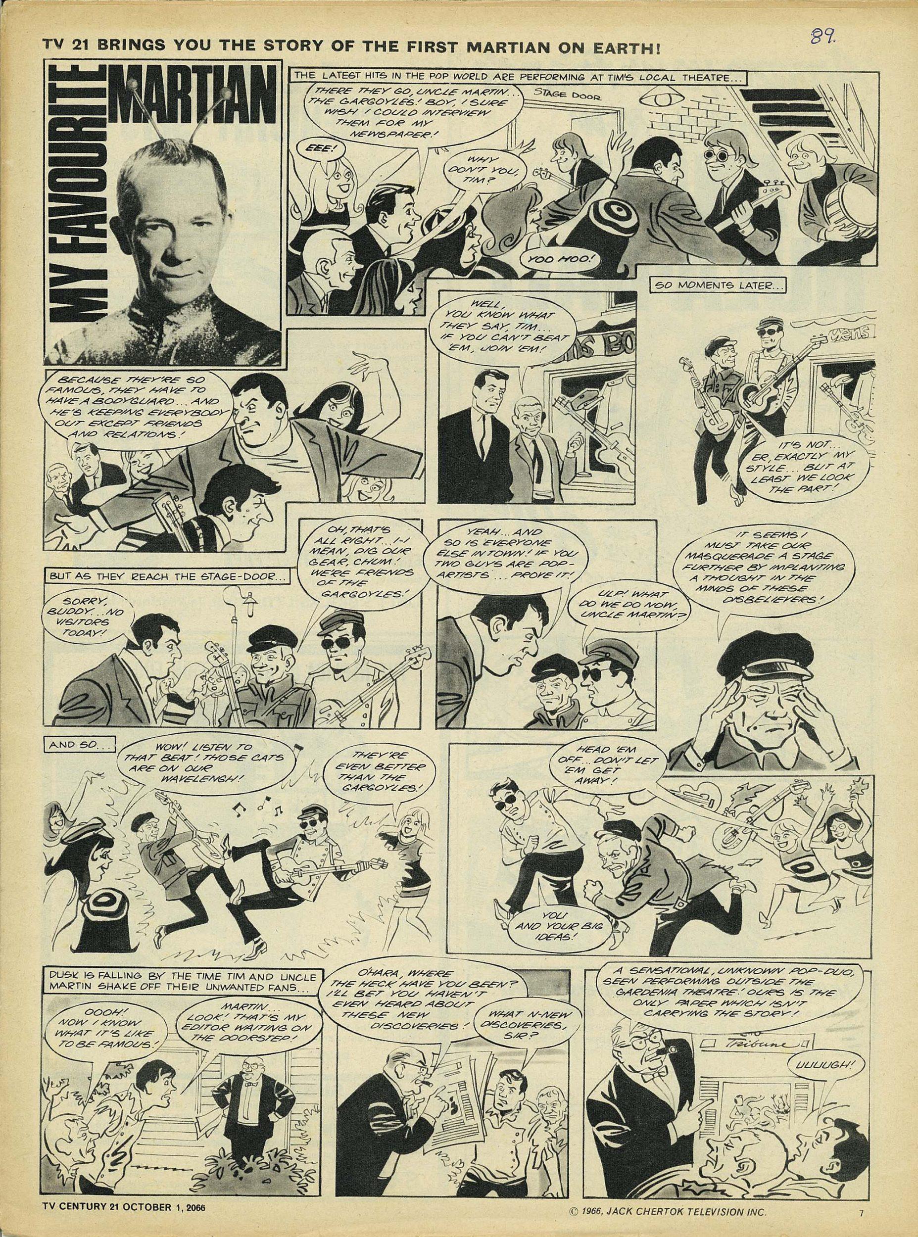 Read online TV Century 21 (TV 21) comic -  Issue #89 - 7
