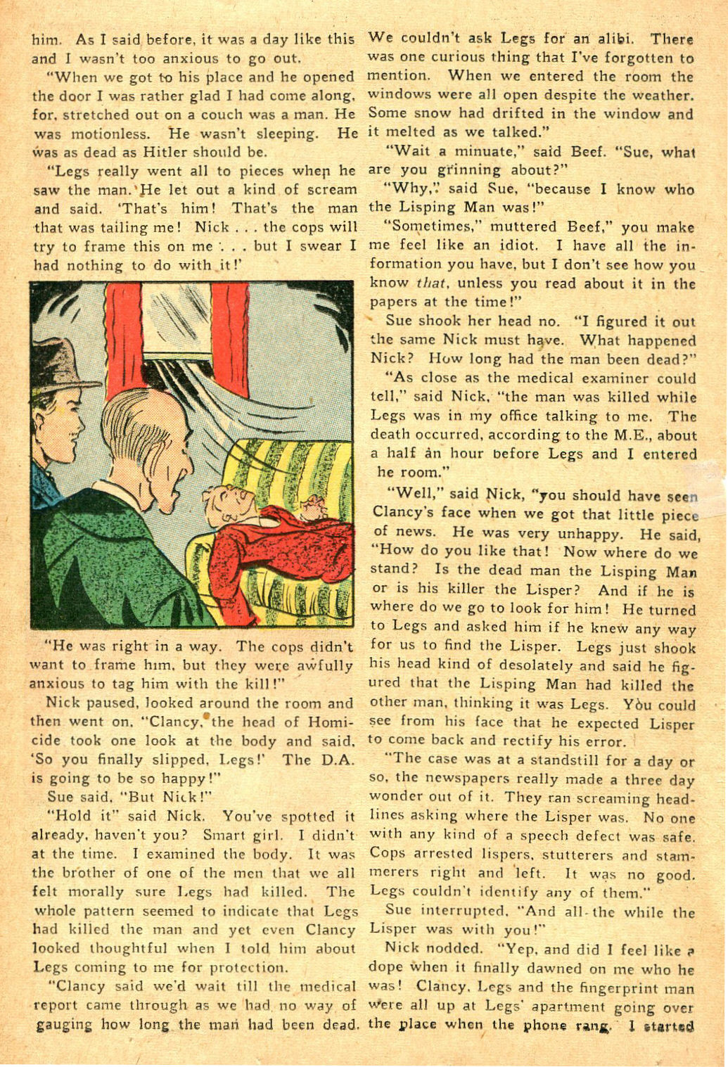 Read online Shadow Comics comic -  Issue #47 - 35