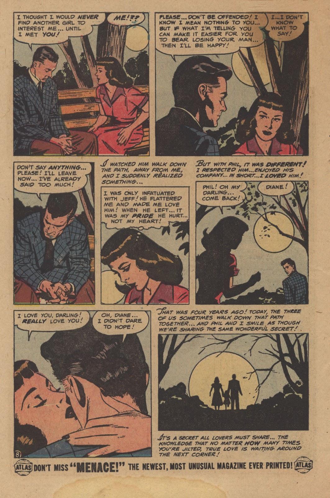 Love Romances (1949) issue 28 - Page 10