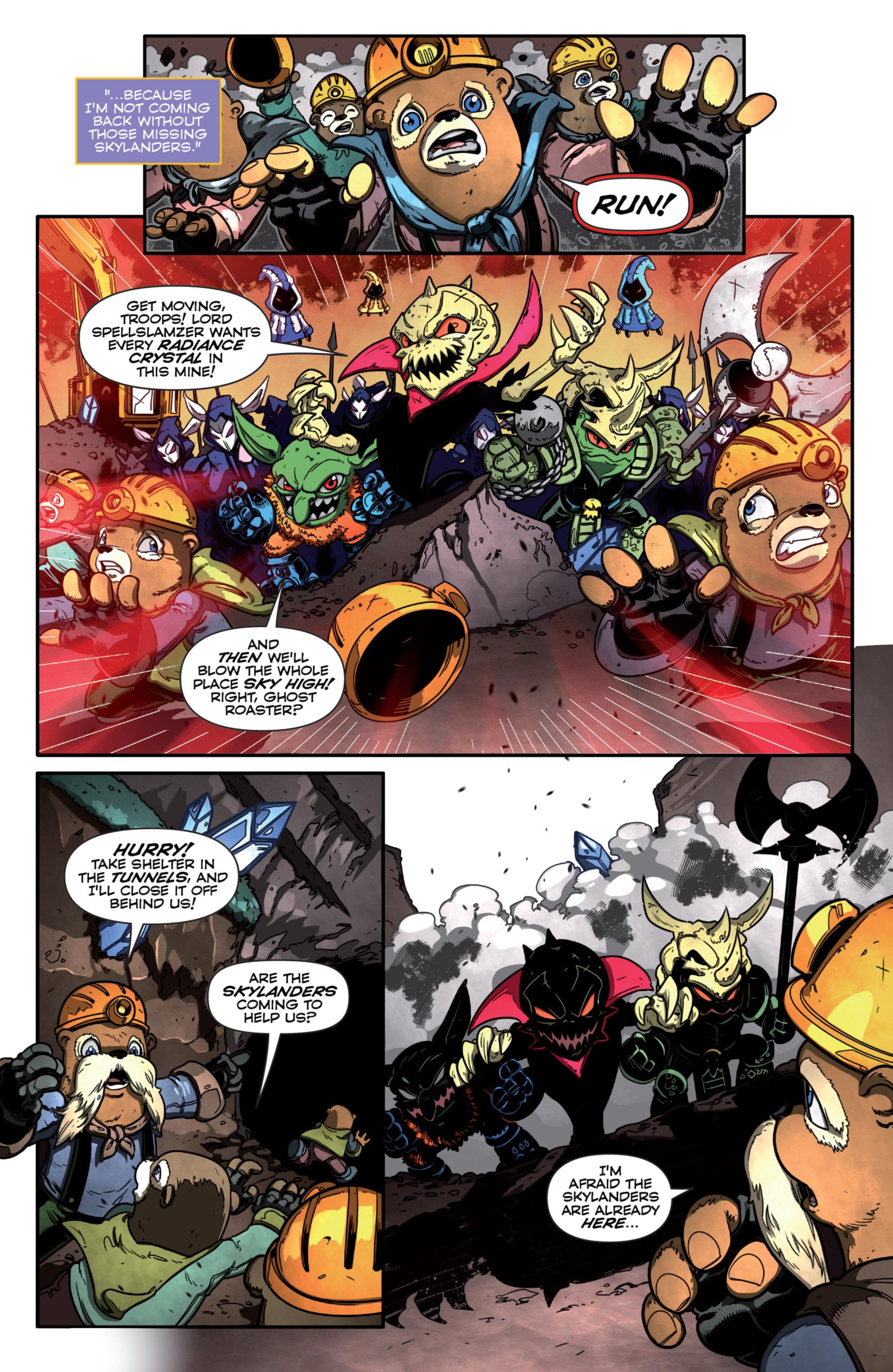 Read online Skylanders Superchargers comic -  Issue #3 - 4