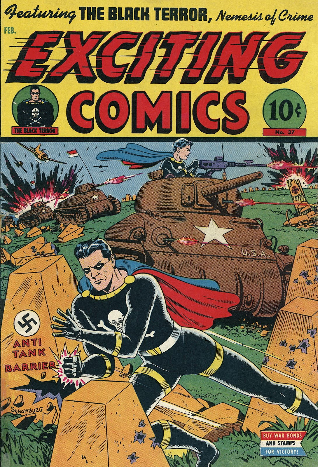 Exciting Comics (1940) issue 37 - Page 1