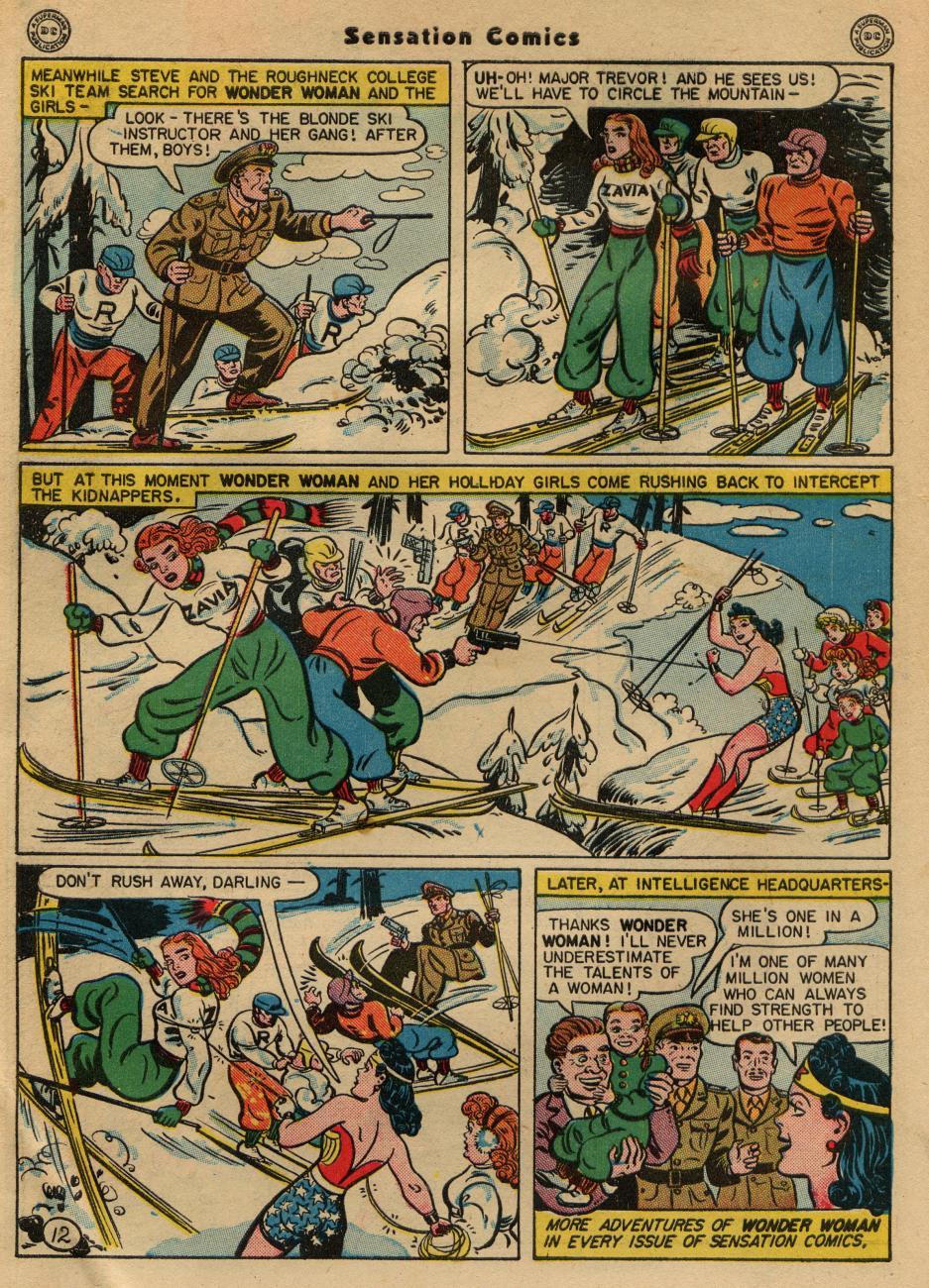 Read online Sensation (Mystery) Comics comic -  Issue #49 - 14