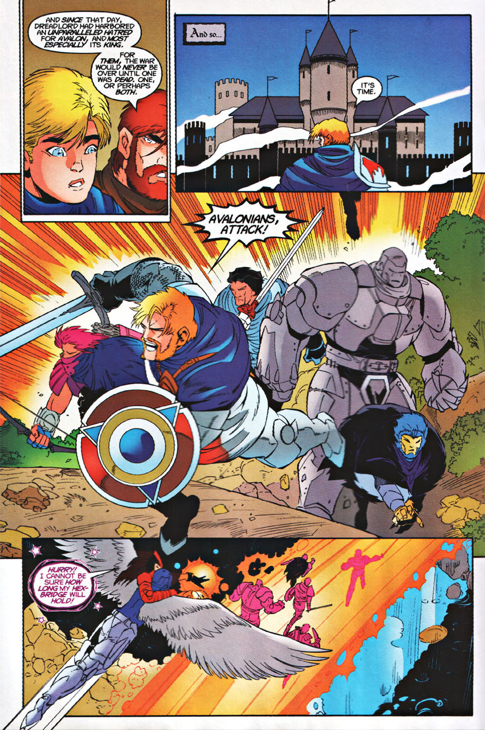 Read online Avataars: Covenant of the Shield comic -  Issue #3 - 9