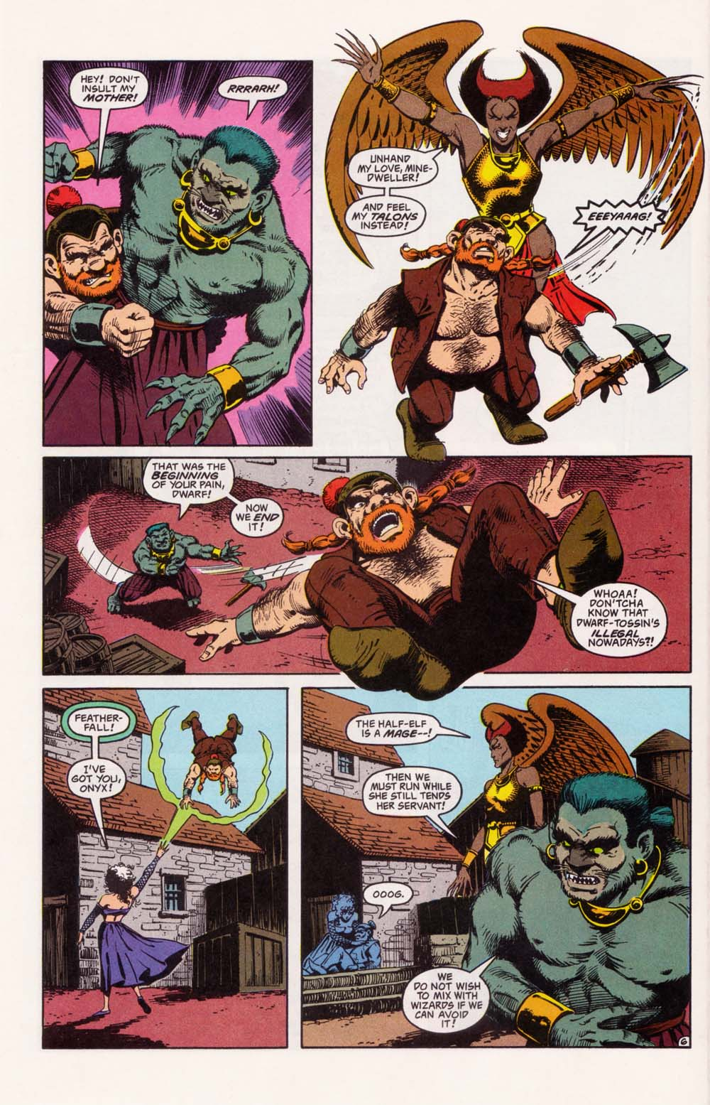 Read online Advanced Dungeons & Dragons comic -  Issue #33 - 6
