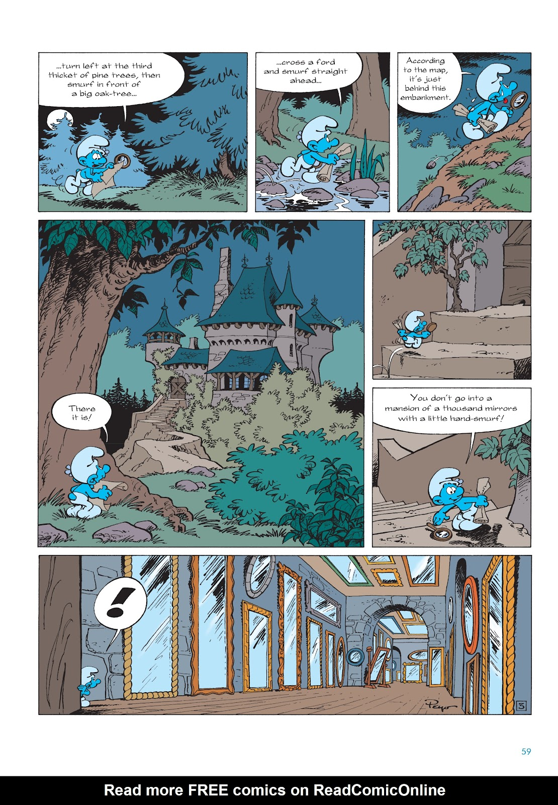 Read online The Smurfs comic -  Issue #22 - 60