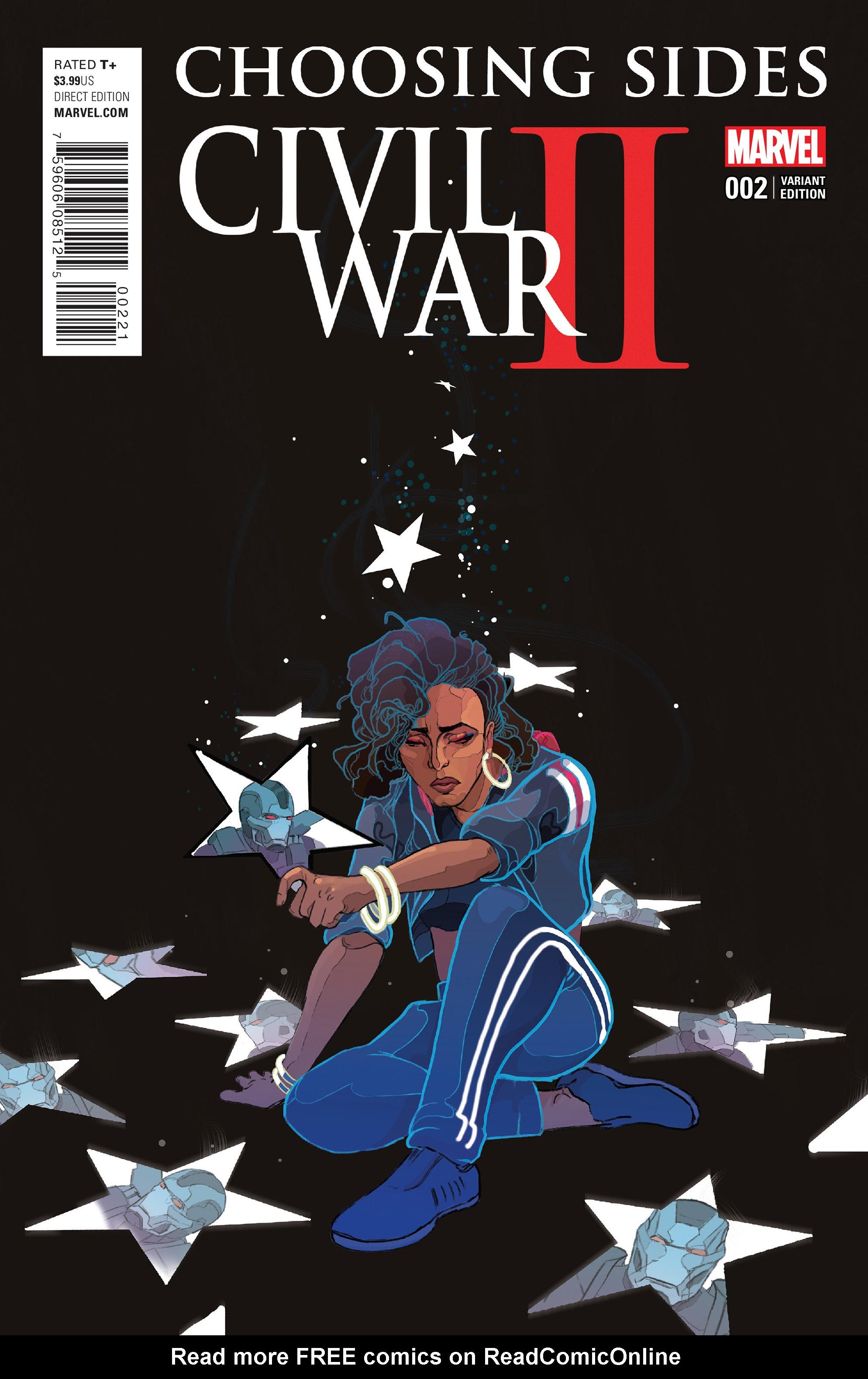 Read online Civil War II: Choosing Sides comic -  Issue #2 - 3