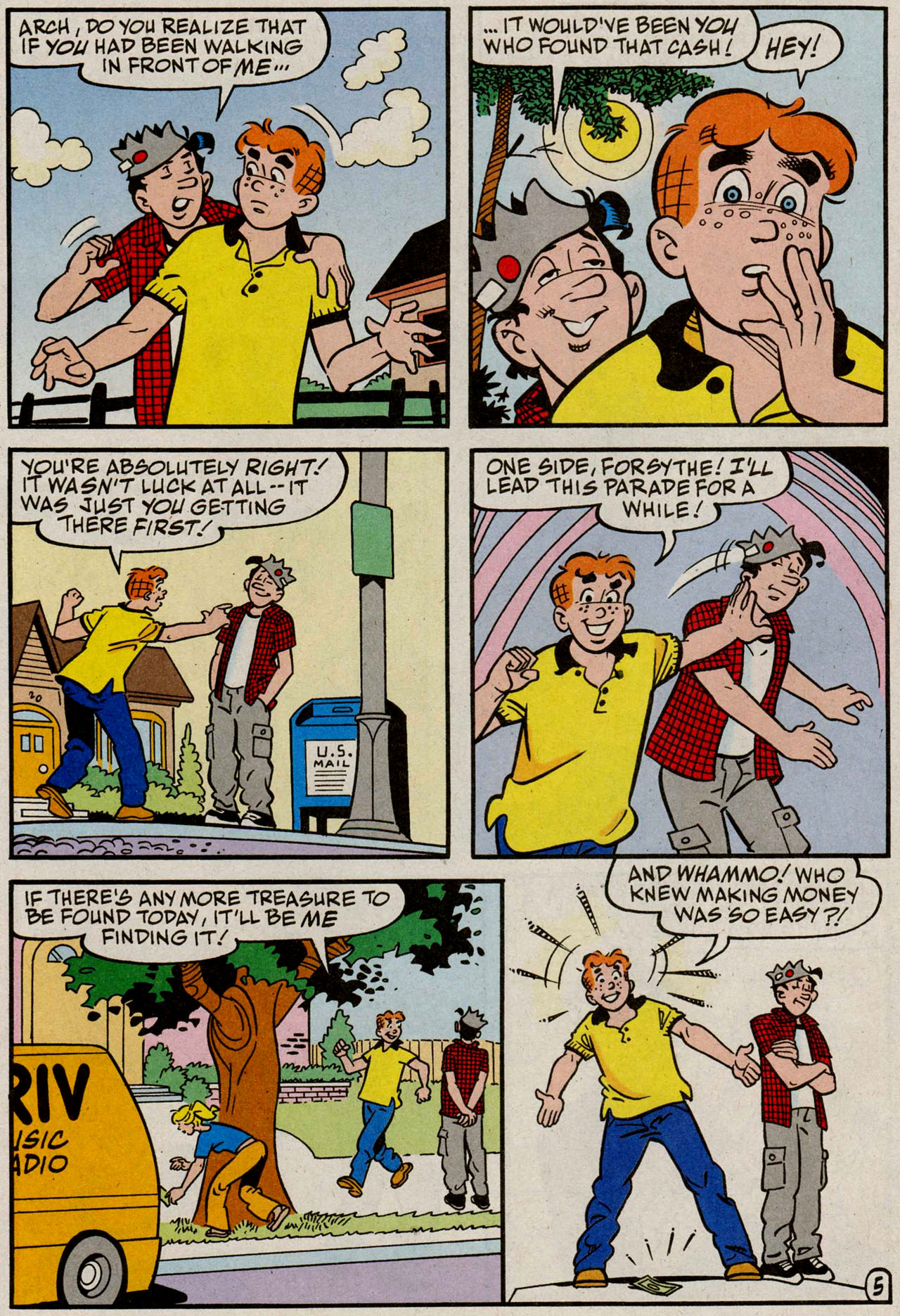 Read online Archie (1960) comic -  Issue #585 - 23