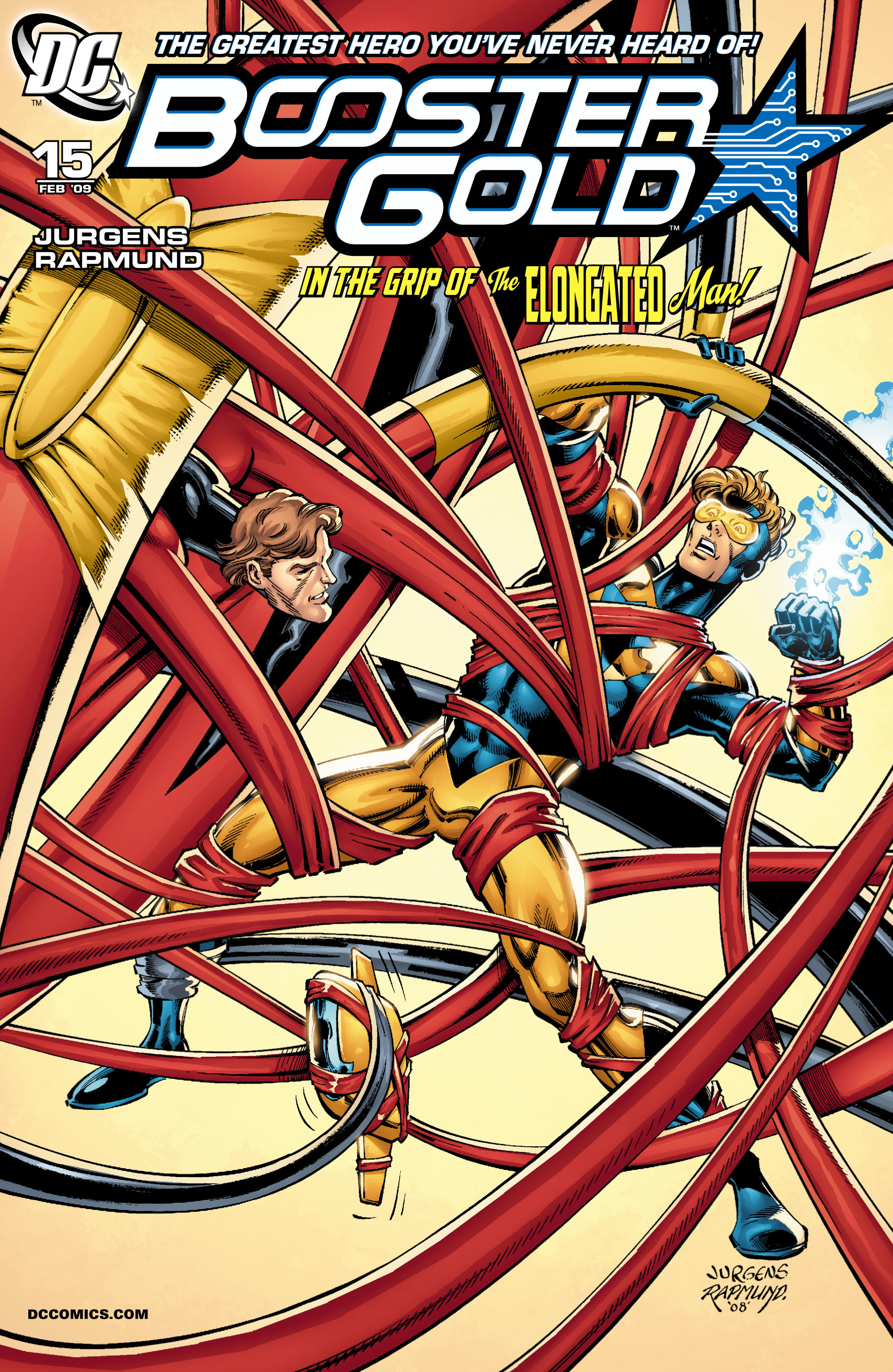 Booster Gold 2007 Issue 15