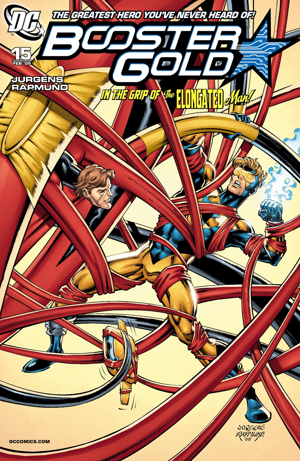 Booster Gold (2007) issue 15 - Page 1