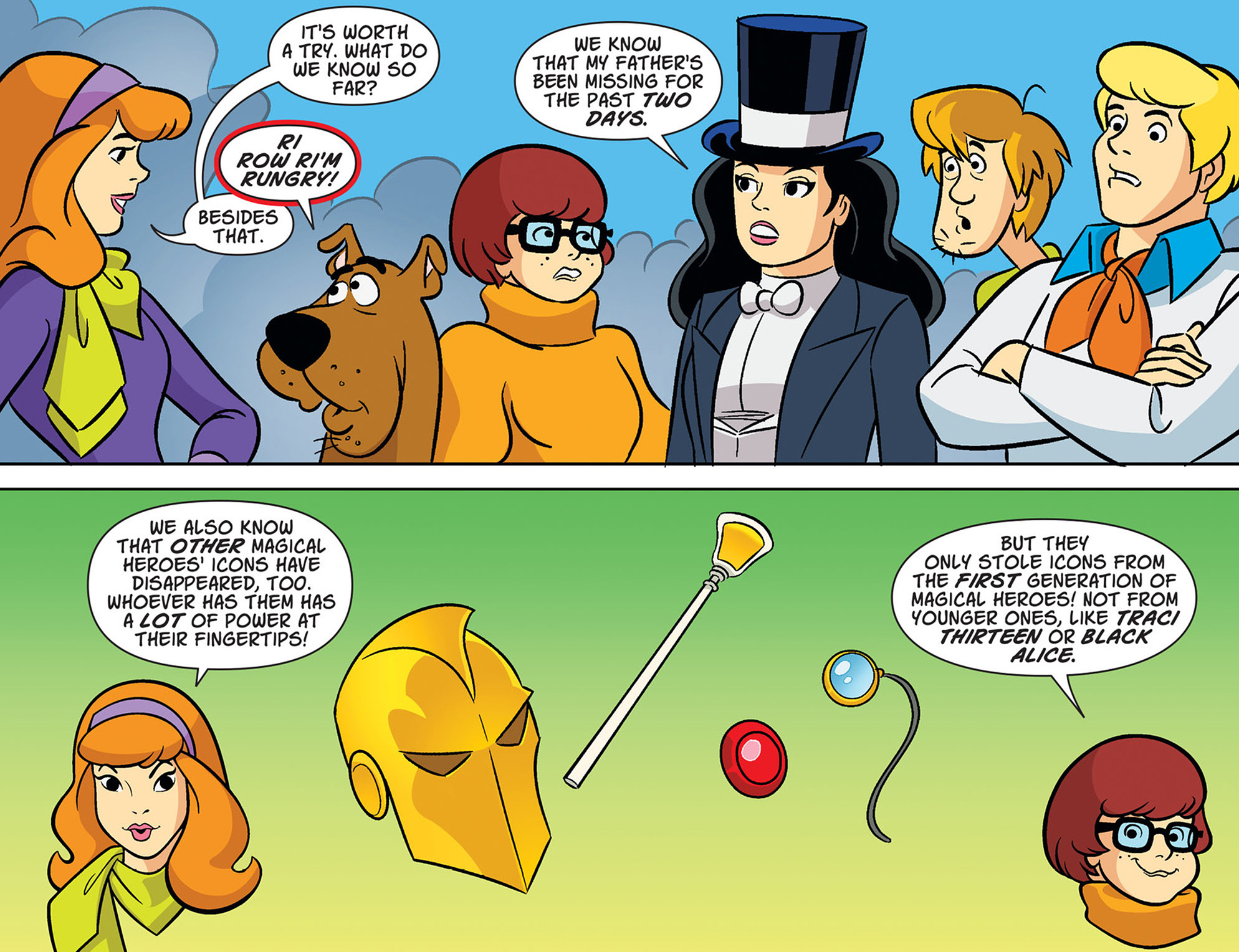 Read online Scooby-Doo! Team-Up comic -  Issue #38 - 9