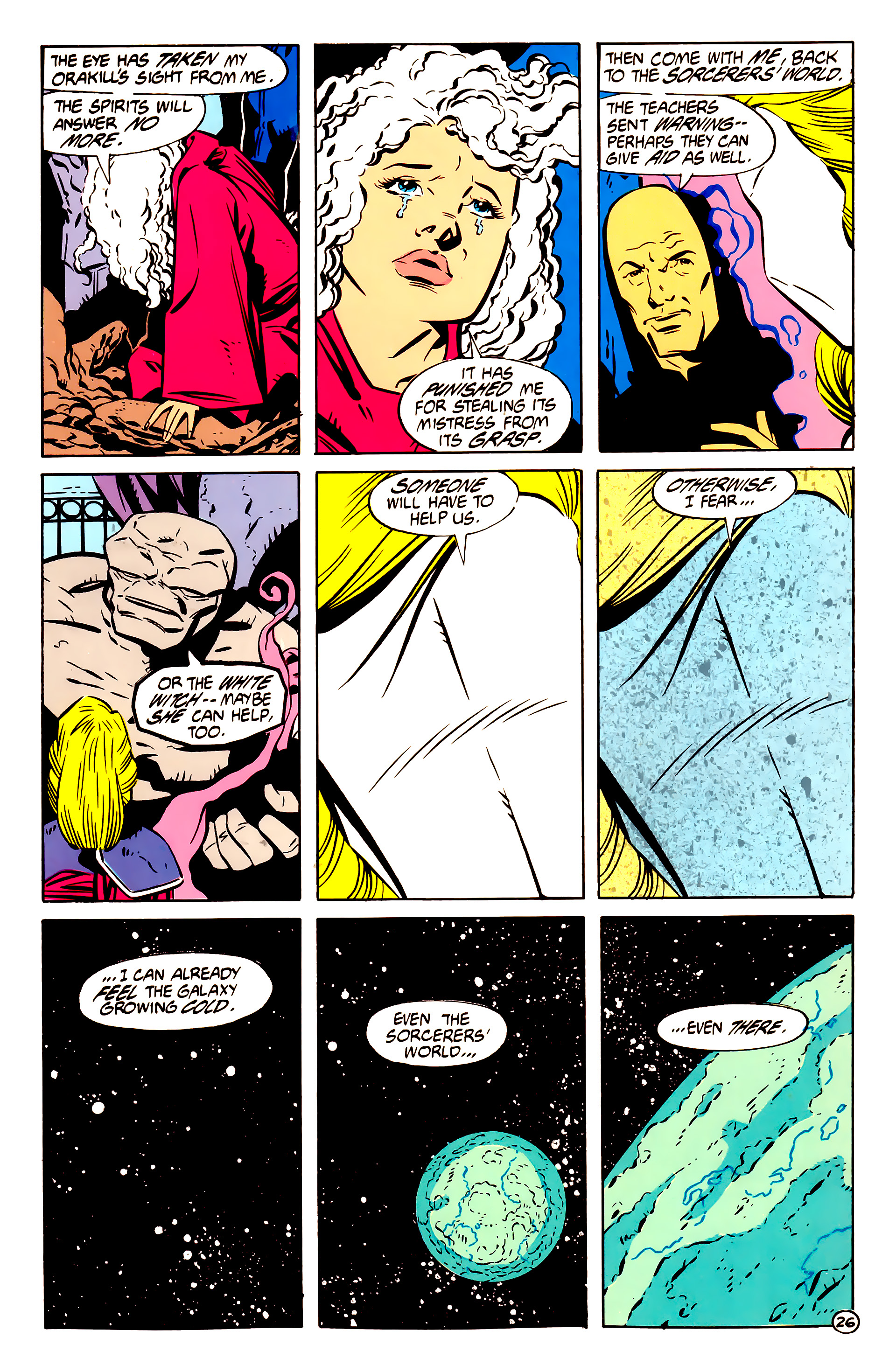 Legion of Super-Heroes (1984) 61 Page 26