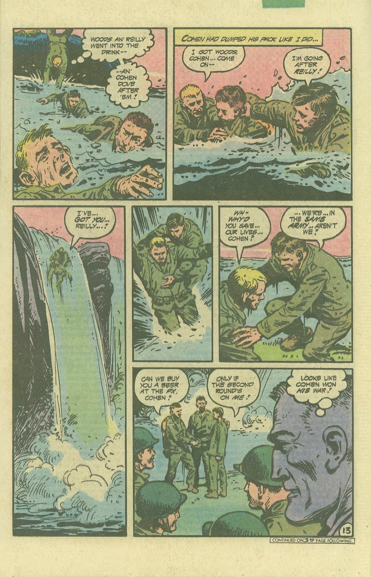 Read online Sgt. Rock comic -  Issue #392 - 13