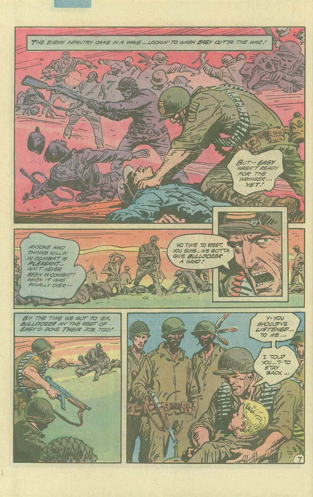 Read online Sgt. Rock comic -  Issue #393 - 7