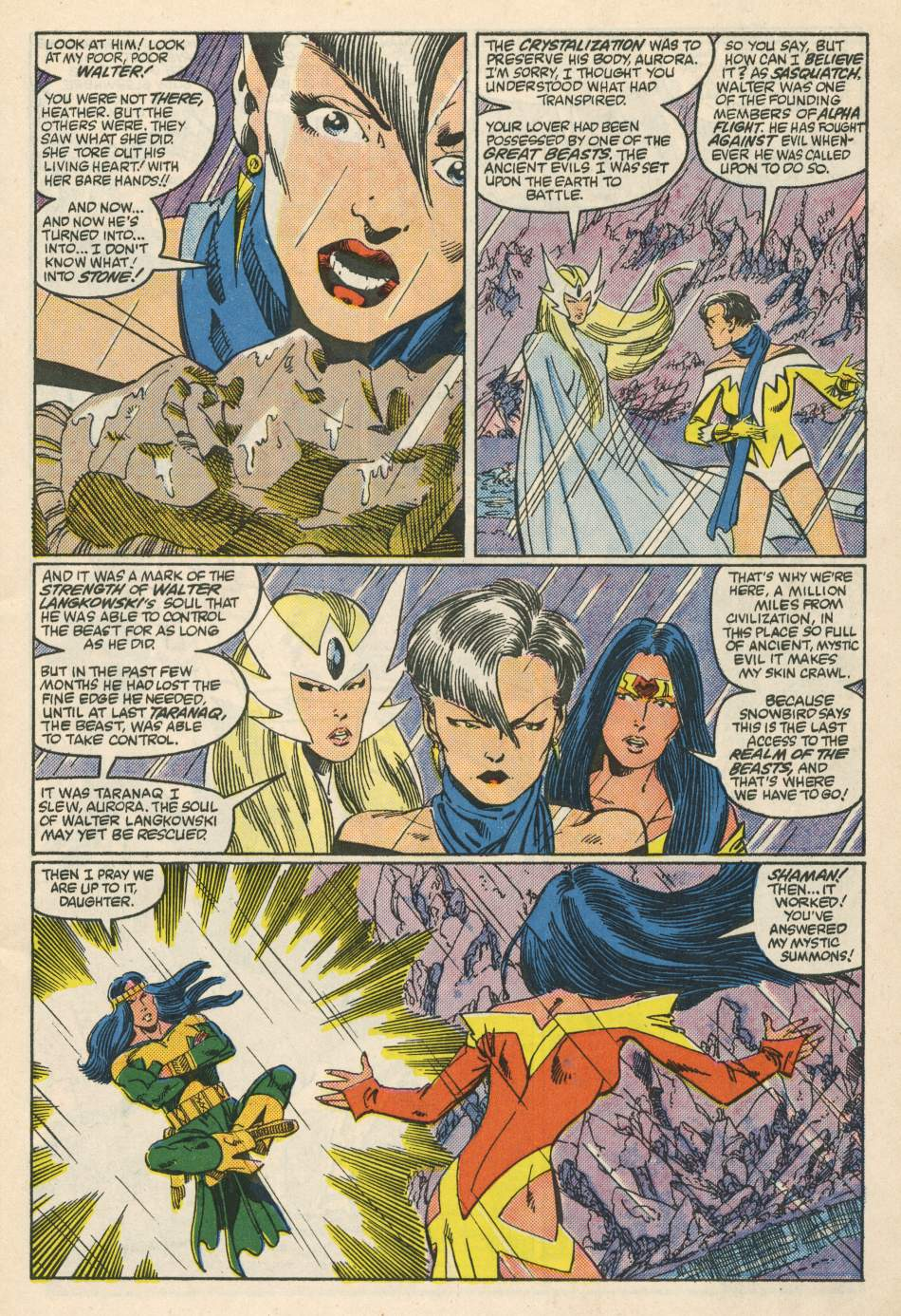 Read online Alpha Flight (1983) comic -  Issue #24 - 4