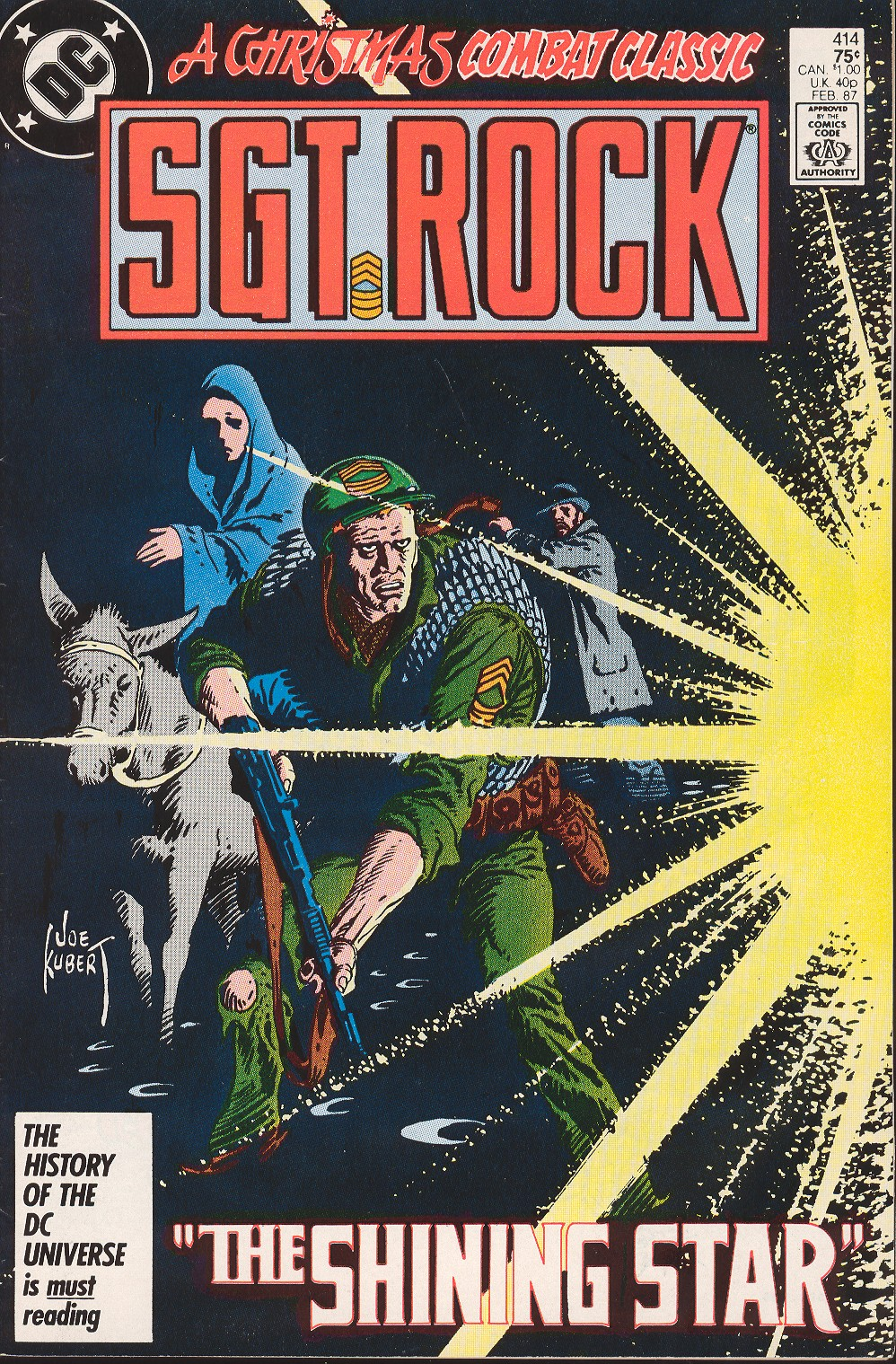 Sgt. Rock issue 414 - Page 1