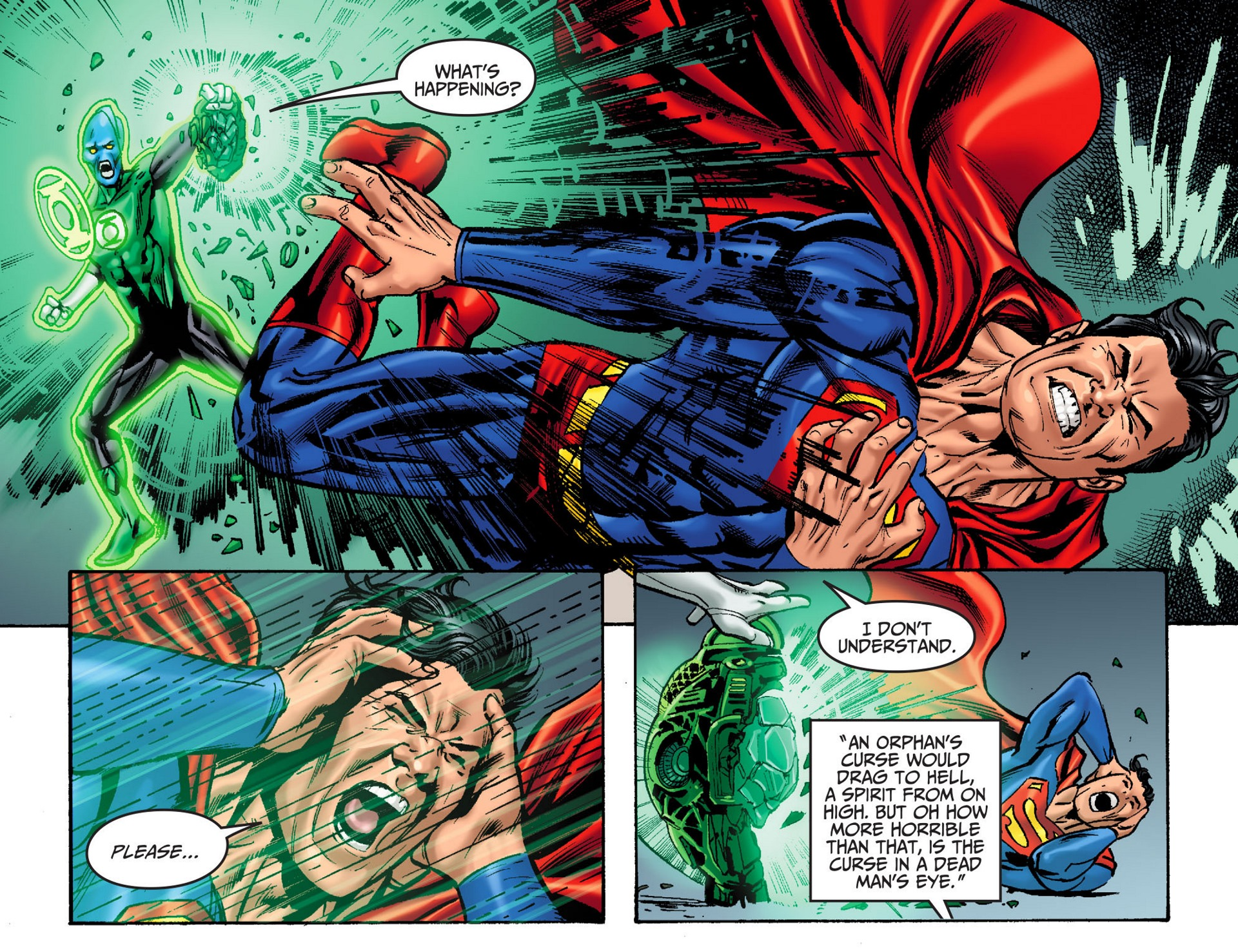 Read online Adventures of Superman [I] comic -  Issue #32 - 17