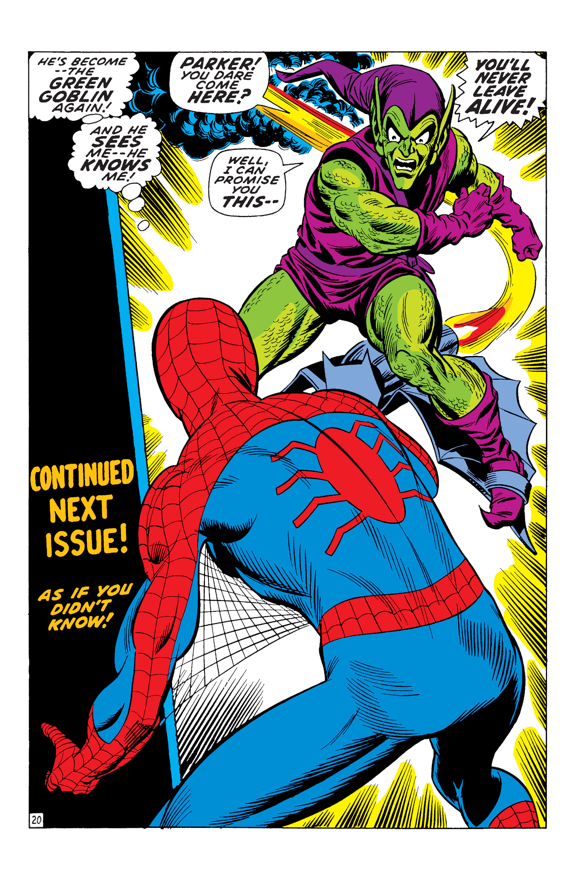 The Amazing Spider-Man (1963) 96 Page 19