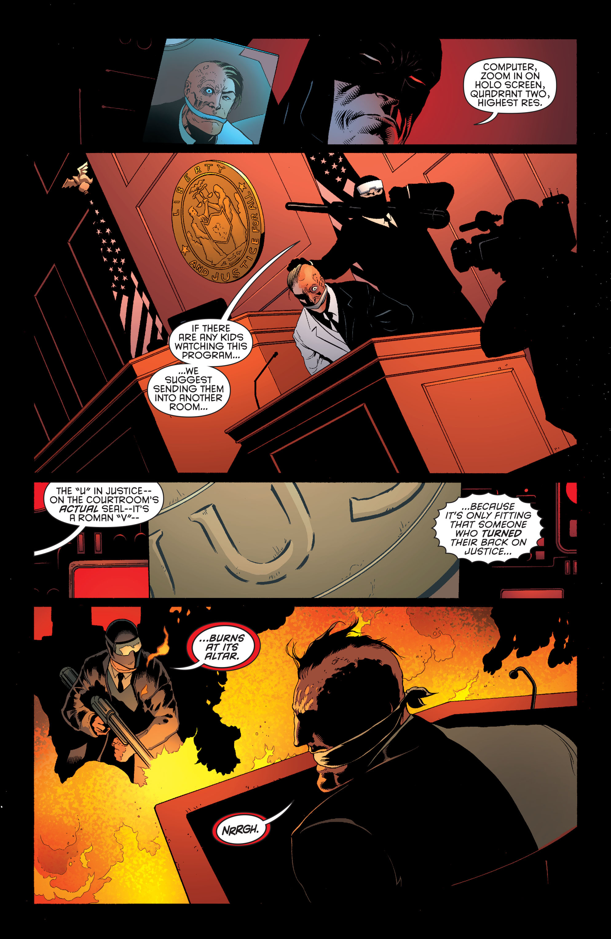 Read online Batman and Robin (2011) comic -  Issue #28 - Batman and Two-Face - 3