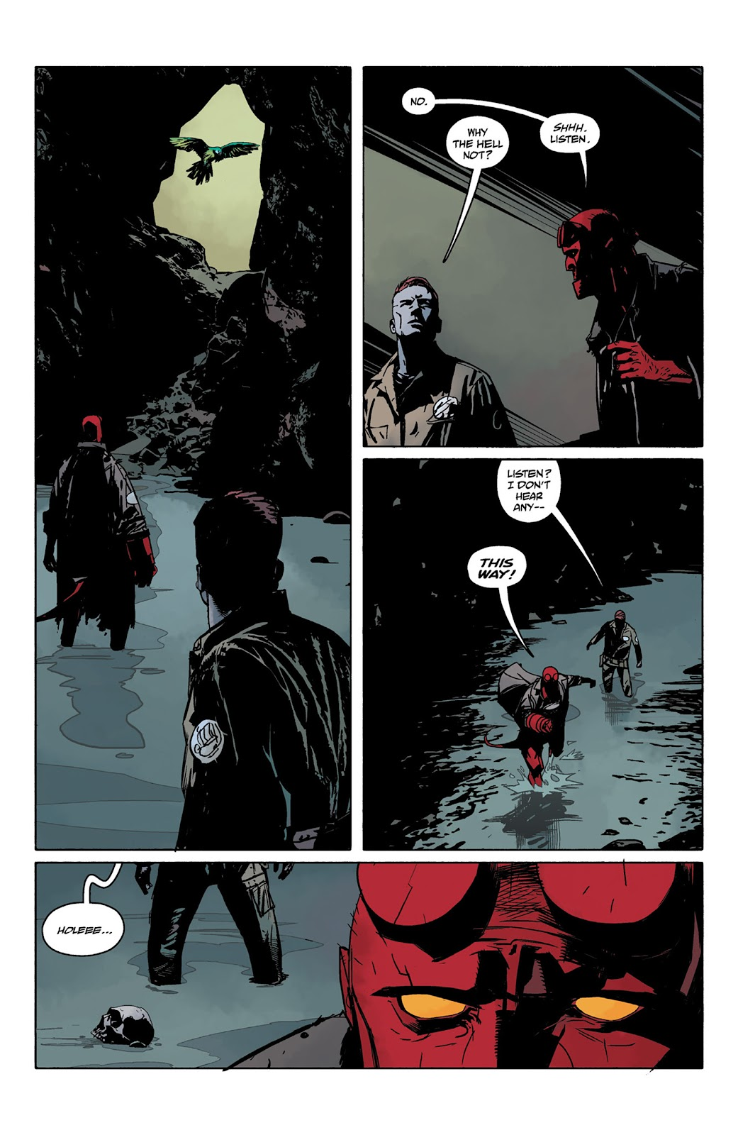 Read online Hellboy and the B.P.R.D. comic -  Issue # _TPB - 76