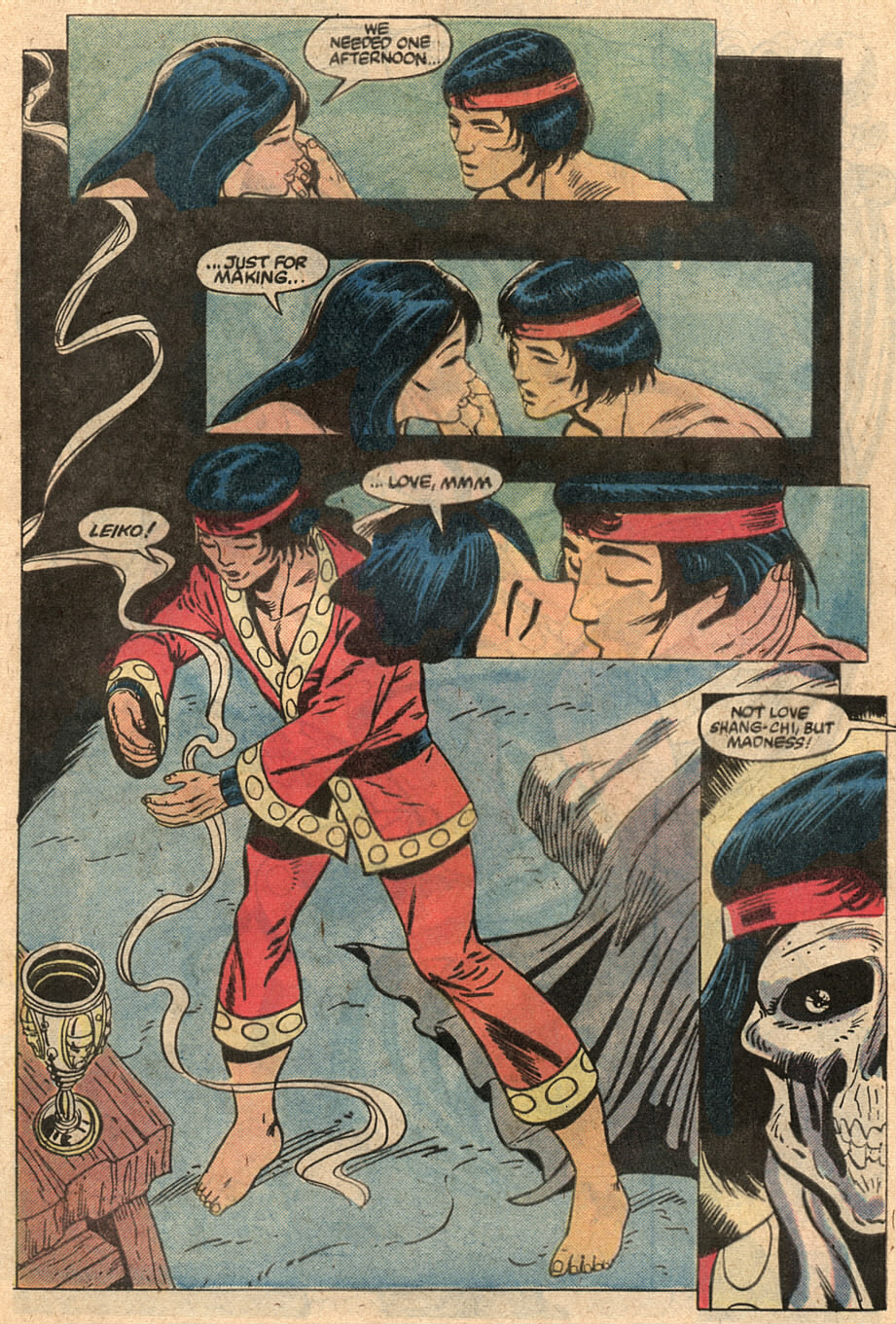 Read online Master of Kung Fu (1974) comic -  Issue #125 - 29