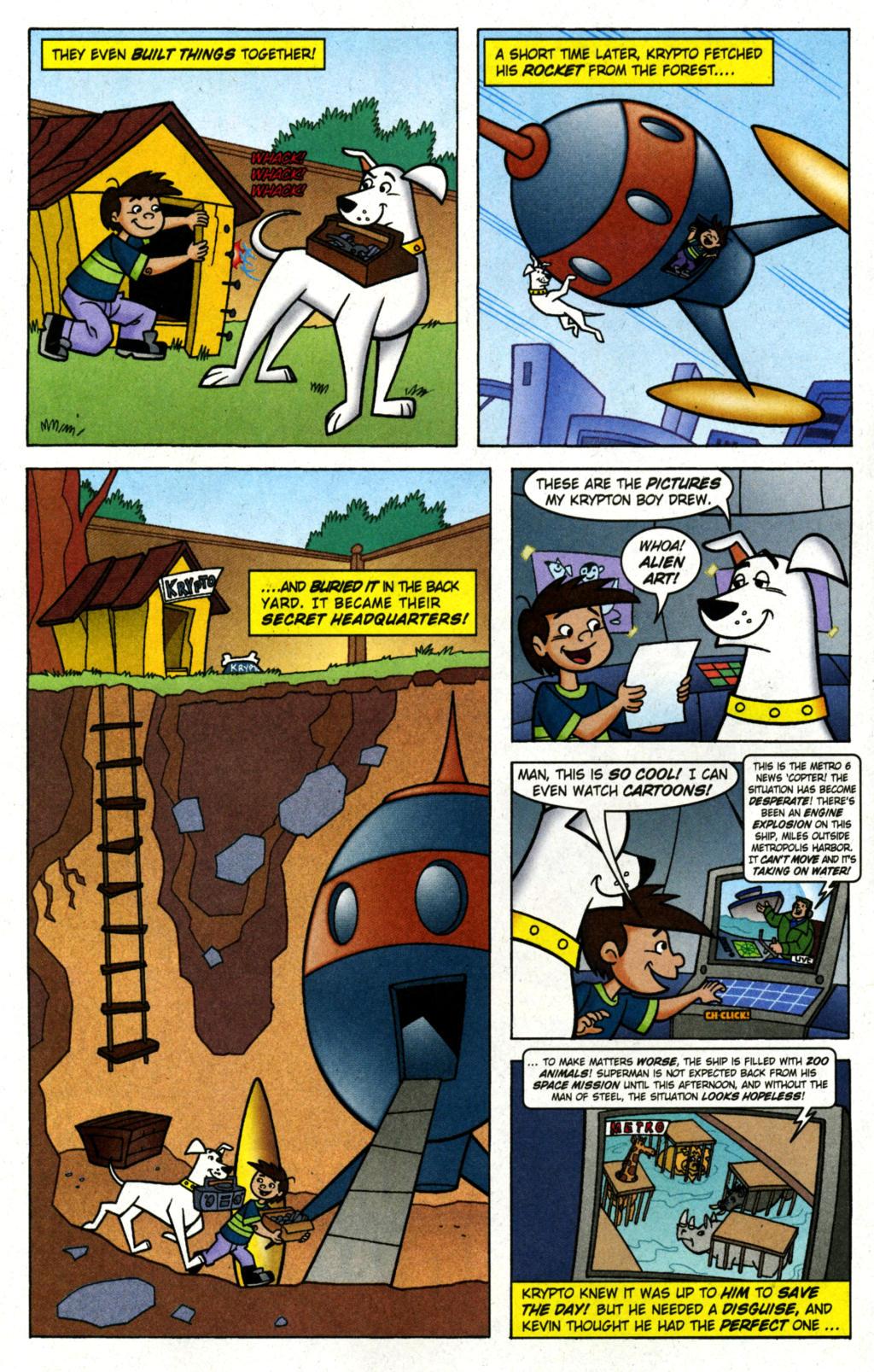 Read online Krypto the Superdog comic -  Issue #1 - 7