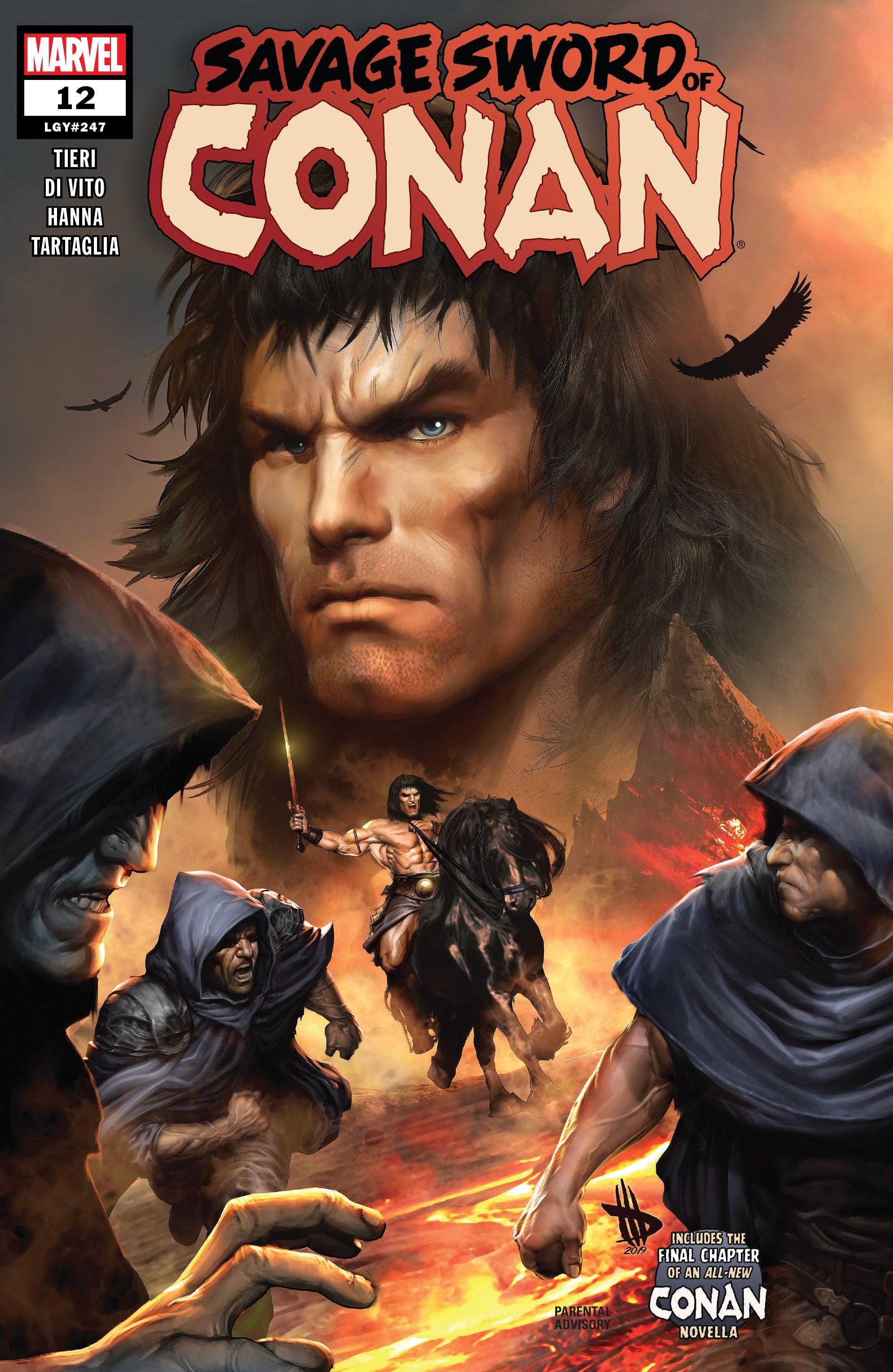 Savage Sword of Conan 12 Page 1