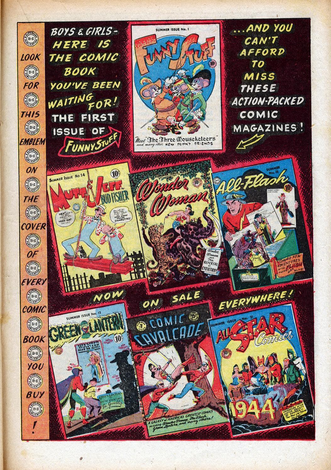 Read online Sensation (Mystery) Comics comic -  Issue #33 - 31